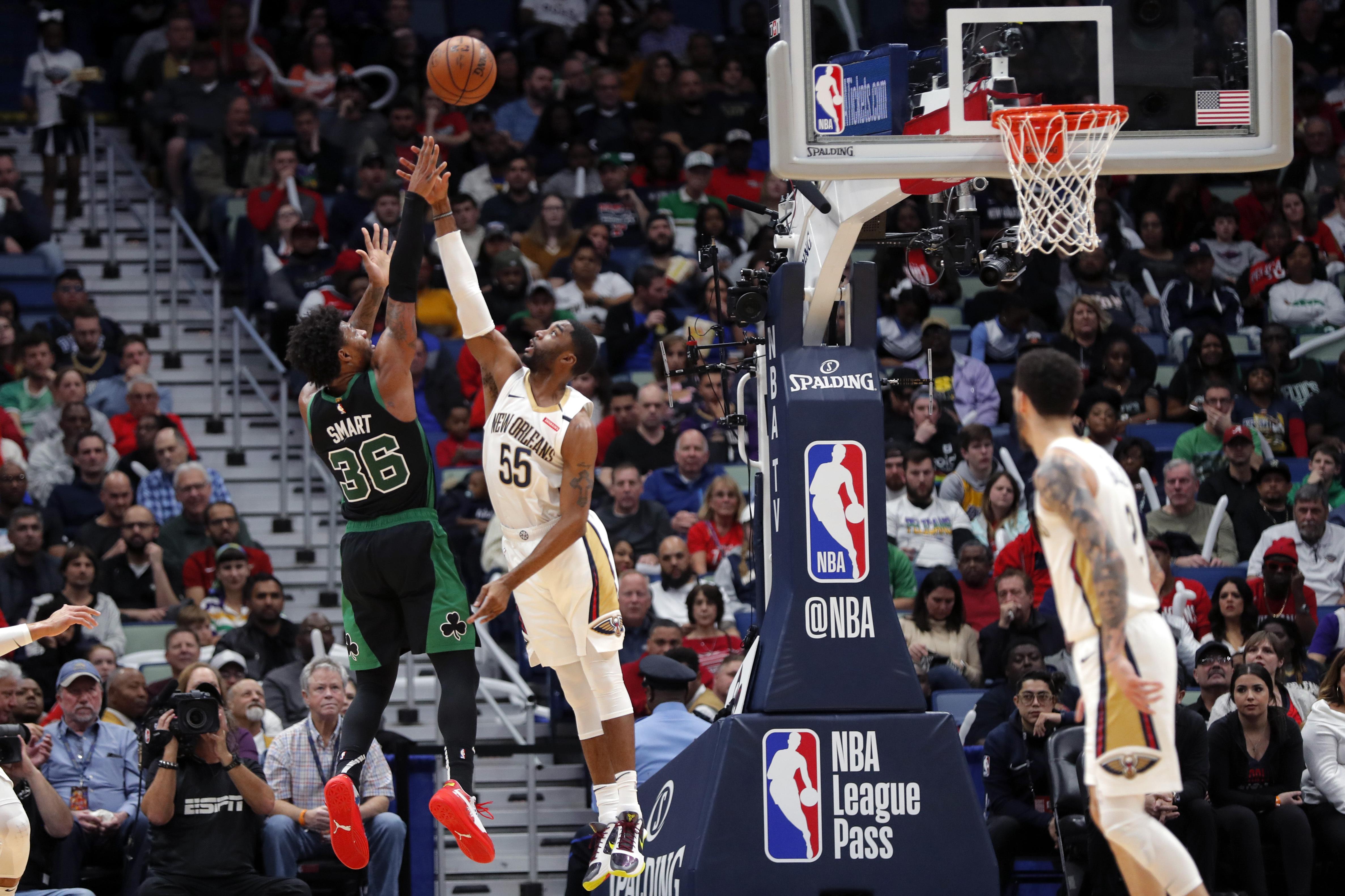 Kemba Walker Scores 35 Points But Boston Celtics Fall To Zion Williamson New Orleans Pelicans 123 108 Masslive Com