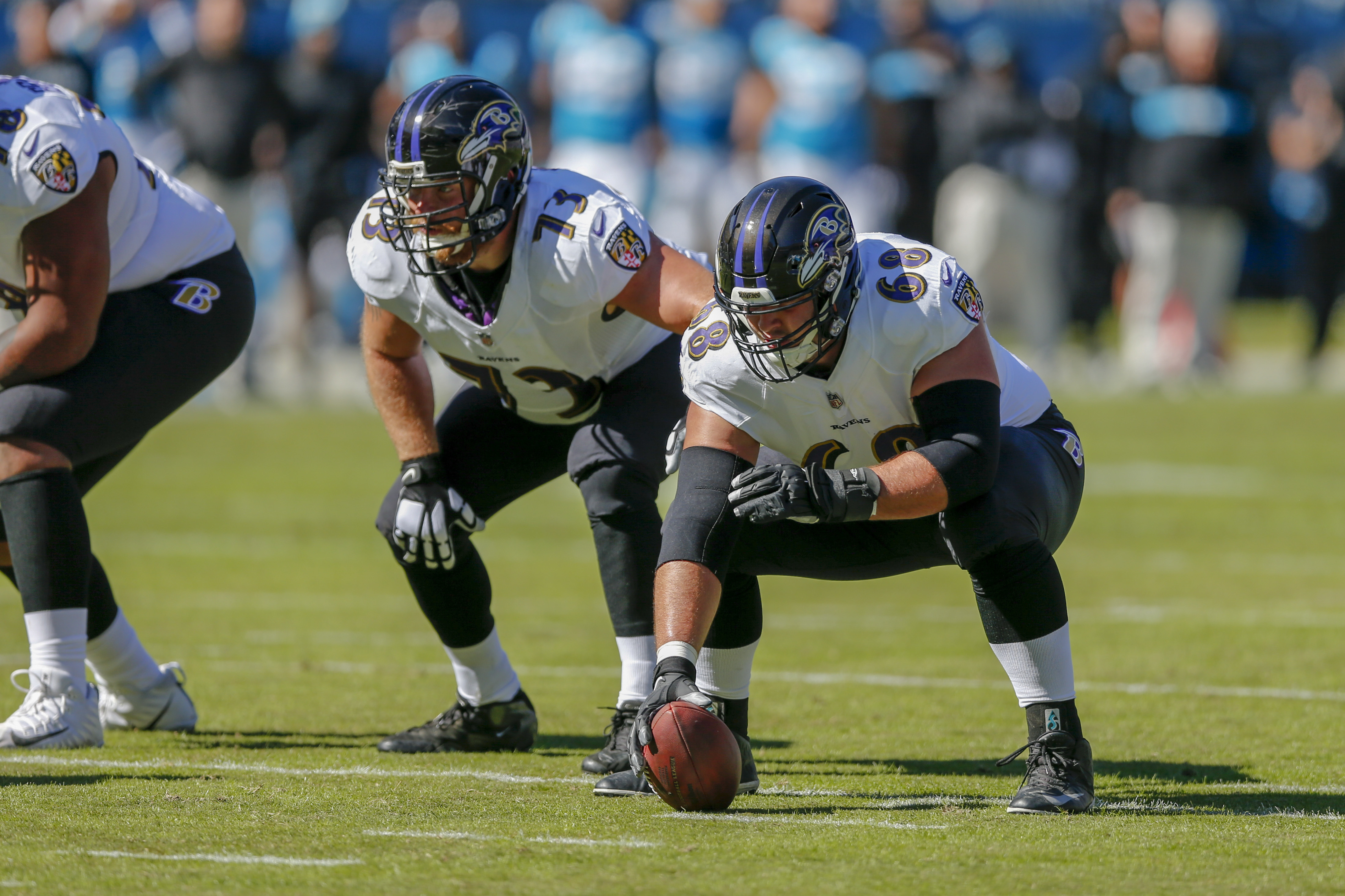 ad604c4ac Baltimore Ravens center Matt Skura nearly doubles salary through  performance-based pay