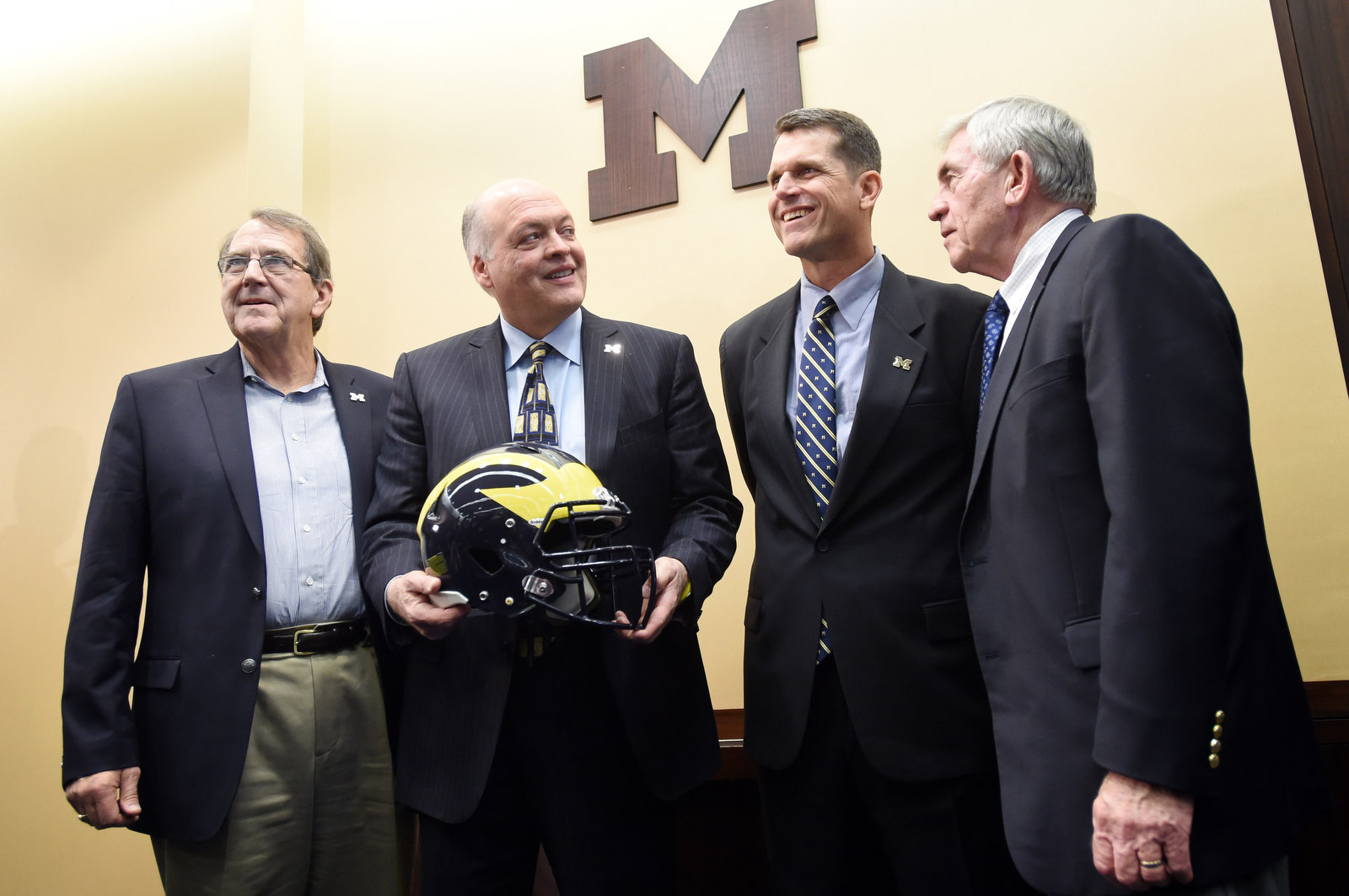 Jim Harbaugh and Michigan football: Offense still looking for stability after four seasons
