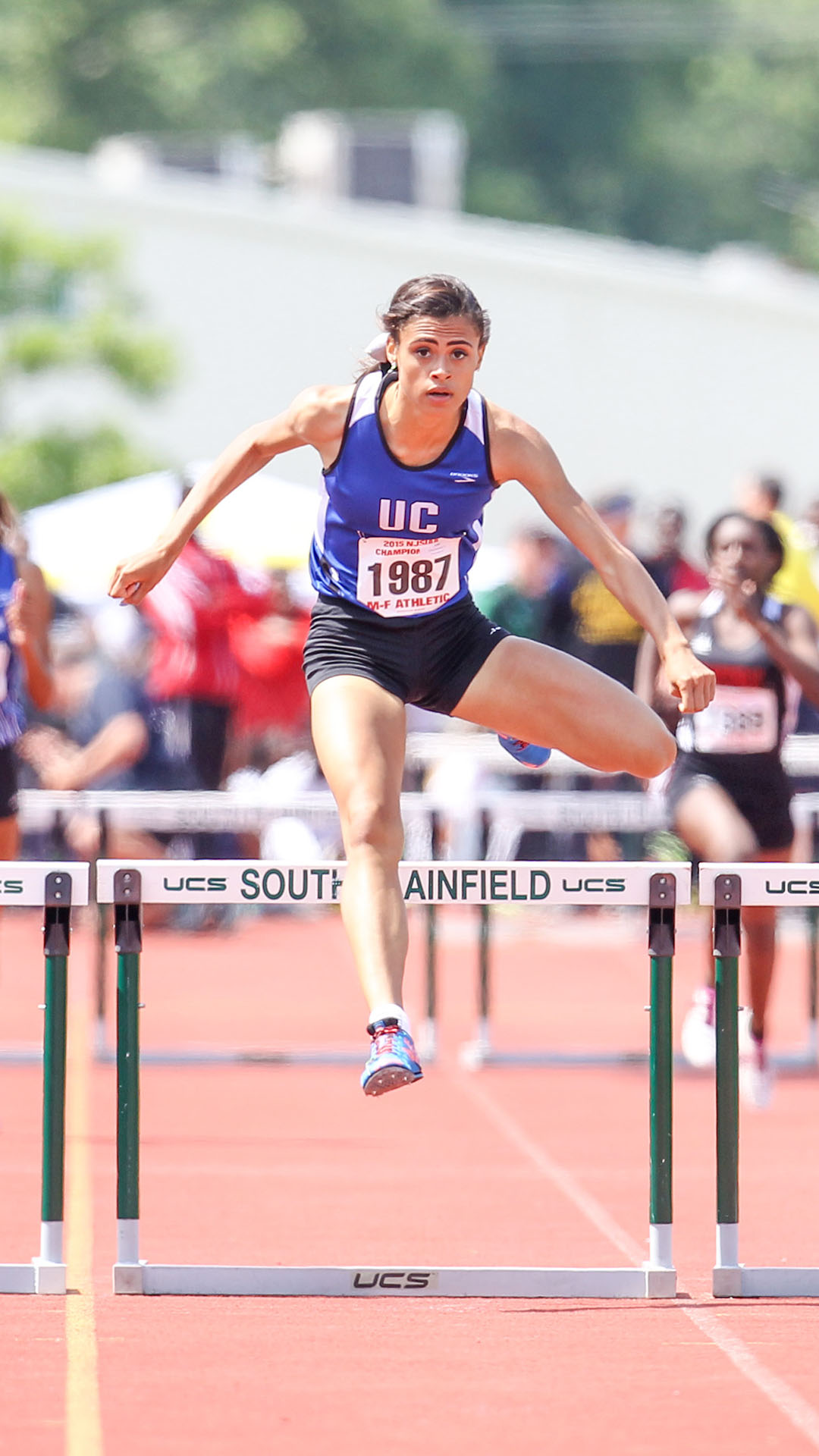 Sydney McLaughlin didn't lose a race in the final three seasons of her high school career at Union Catholic.
