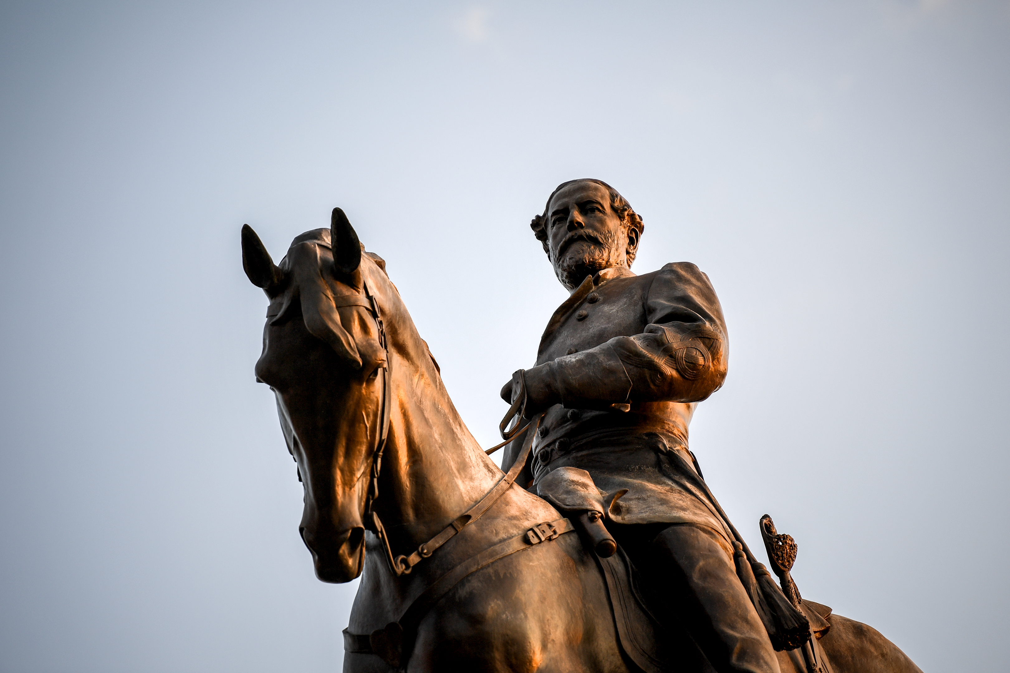 A statue of Confederate Gen. Robert E. Lee in Richmond, Va. MUST CREDIT: Washington Post photo by Salwan Georges The Washington Post