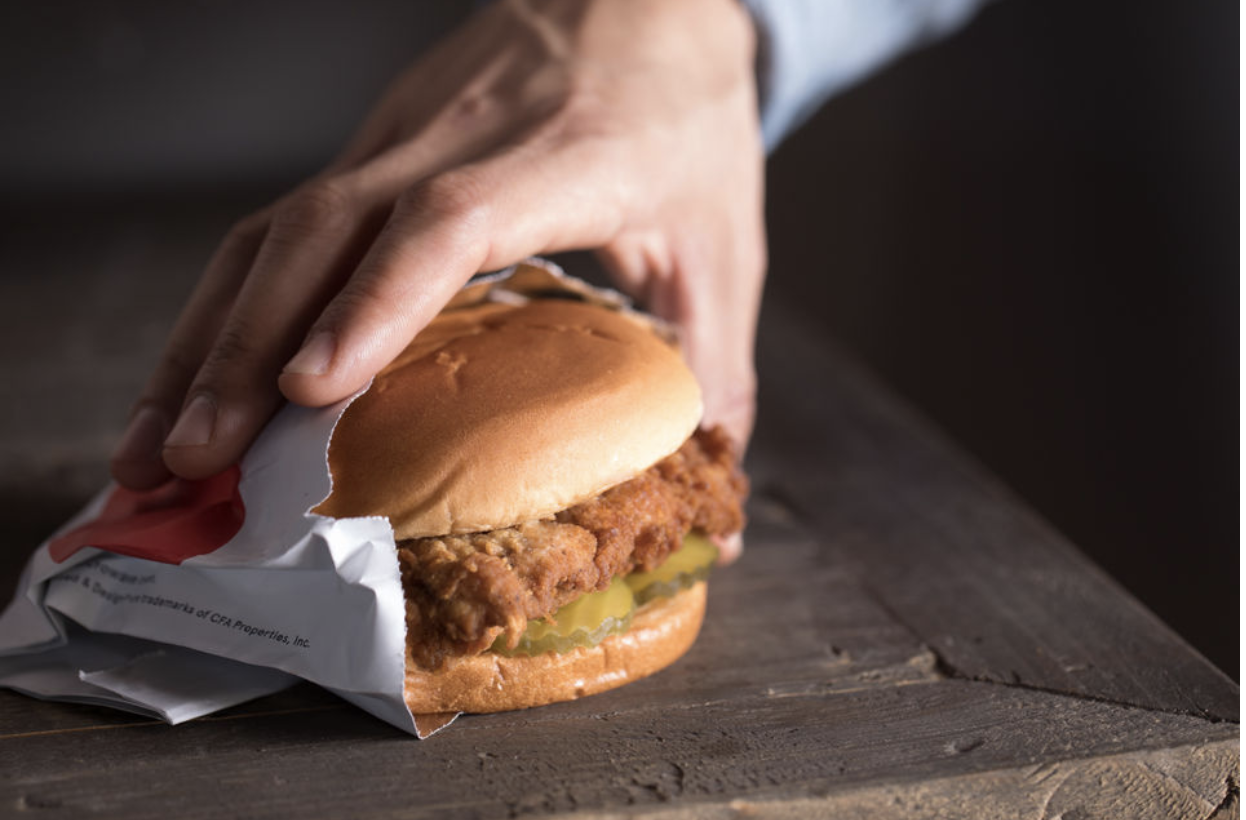 Chick-fil-A will open in the Staten Island Mall on Thursday.