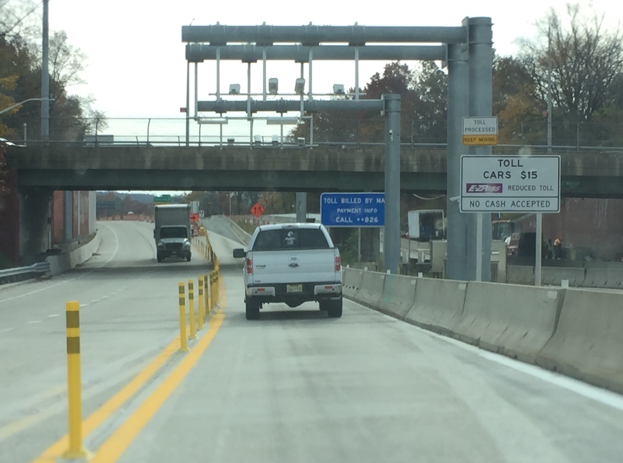 Pay Tolls Online Nyc >> Outerbridge Crossing Goes Cashless At The Tolls Next Week