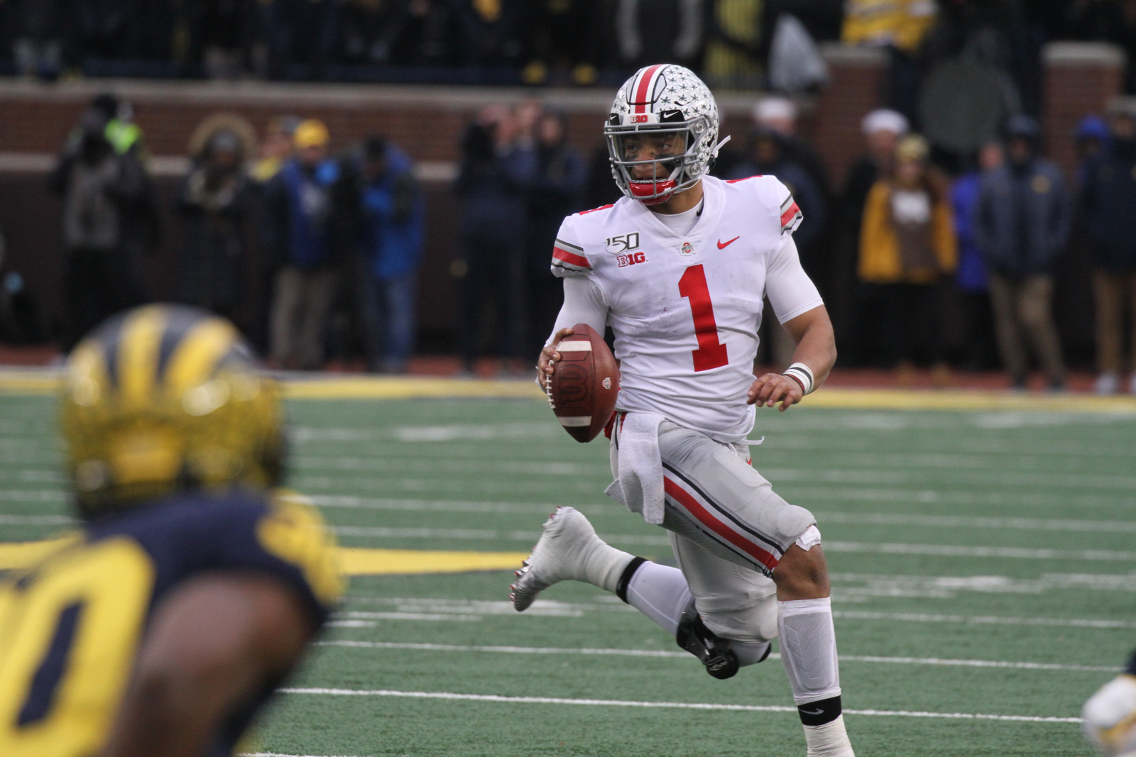 Image result for justin fields running