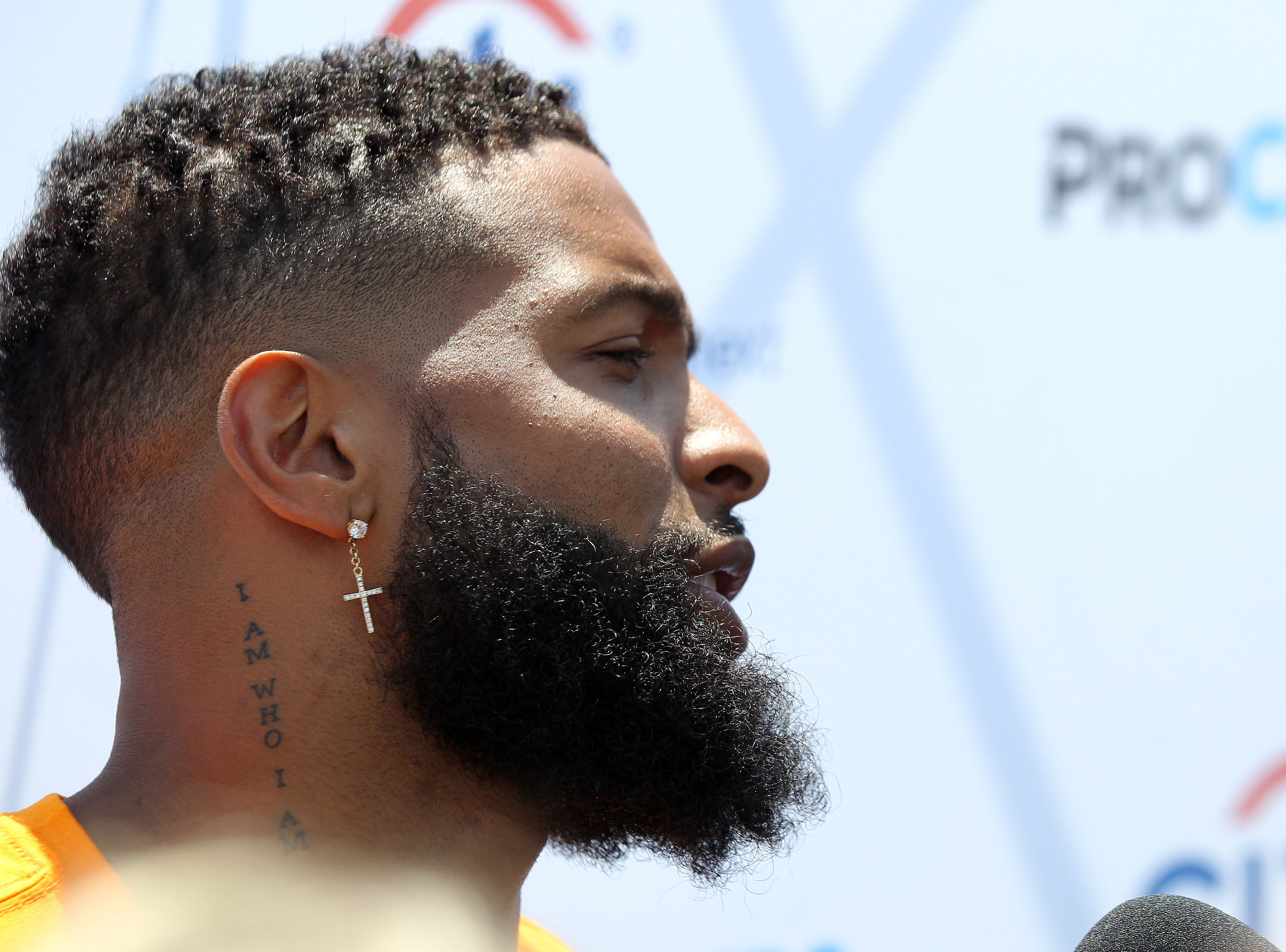 Odell Beckham Jr., minus the blond hair, is eager for a fresh