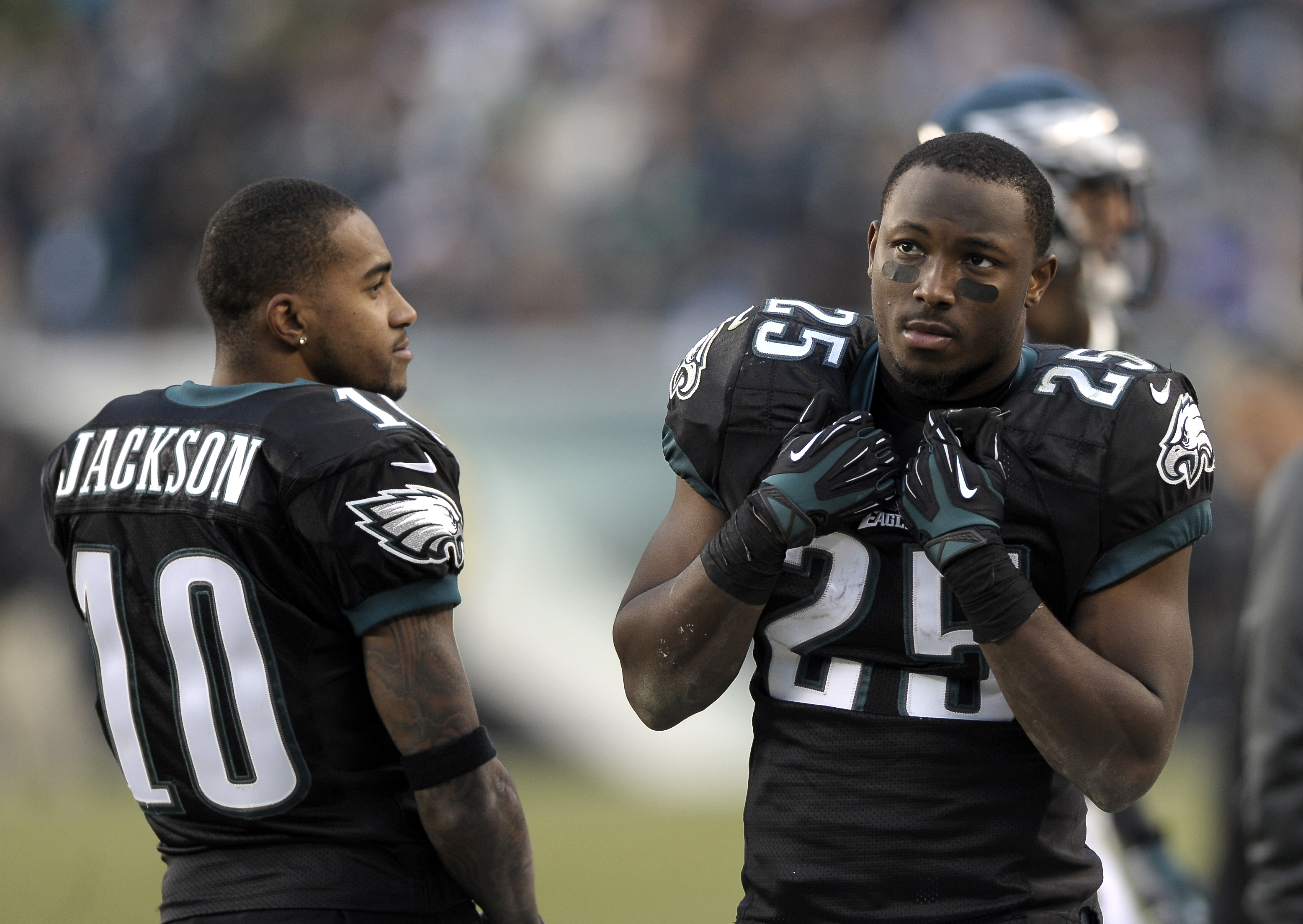Why LeSean McCoy was 'mad' when Eagles' DeSean Jackson returned to ...