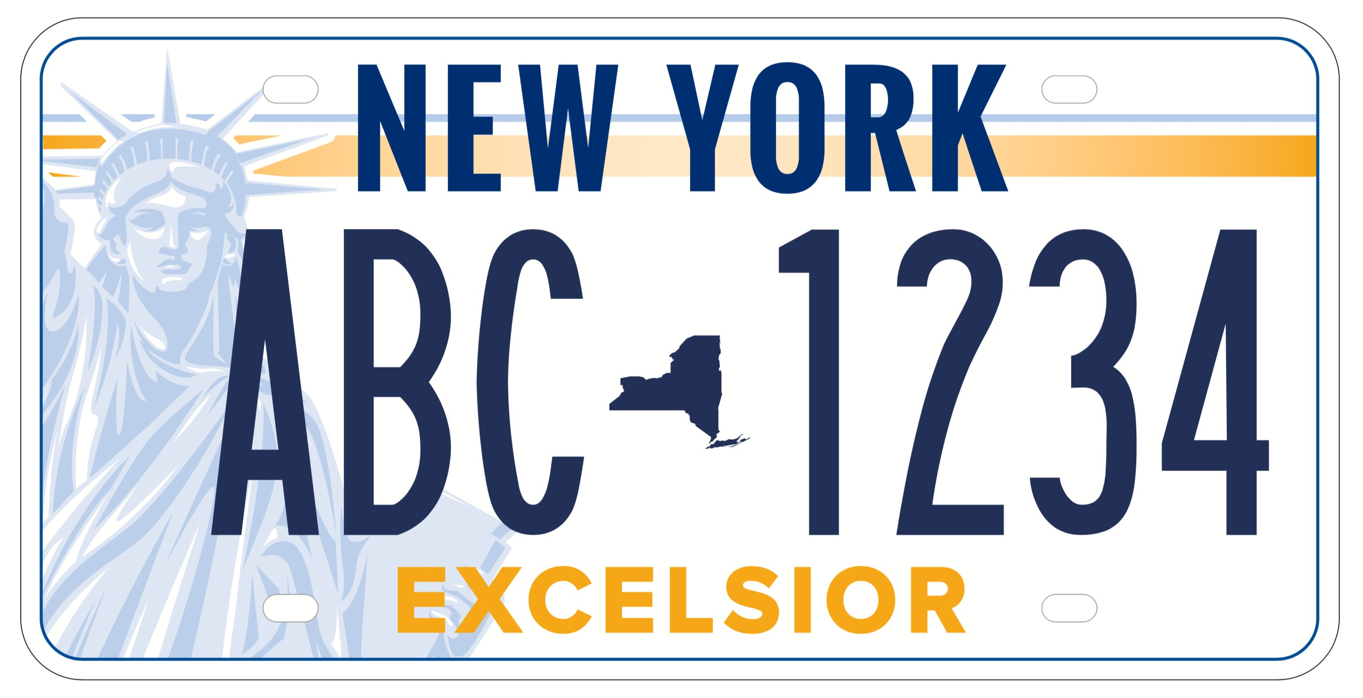 New York ends contract with company linked to peeling license plates