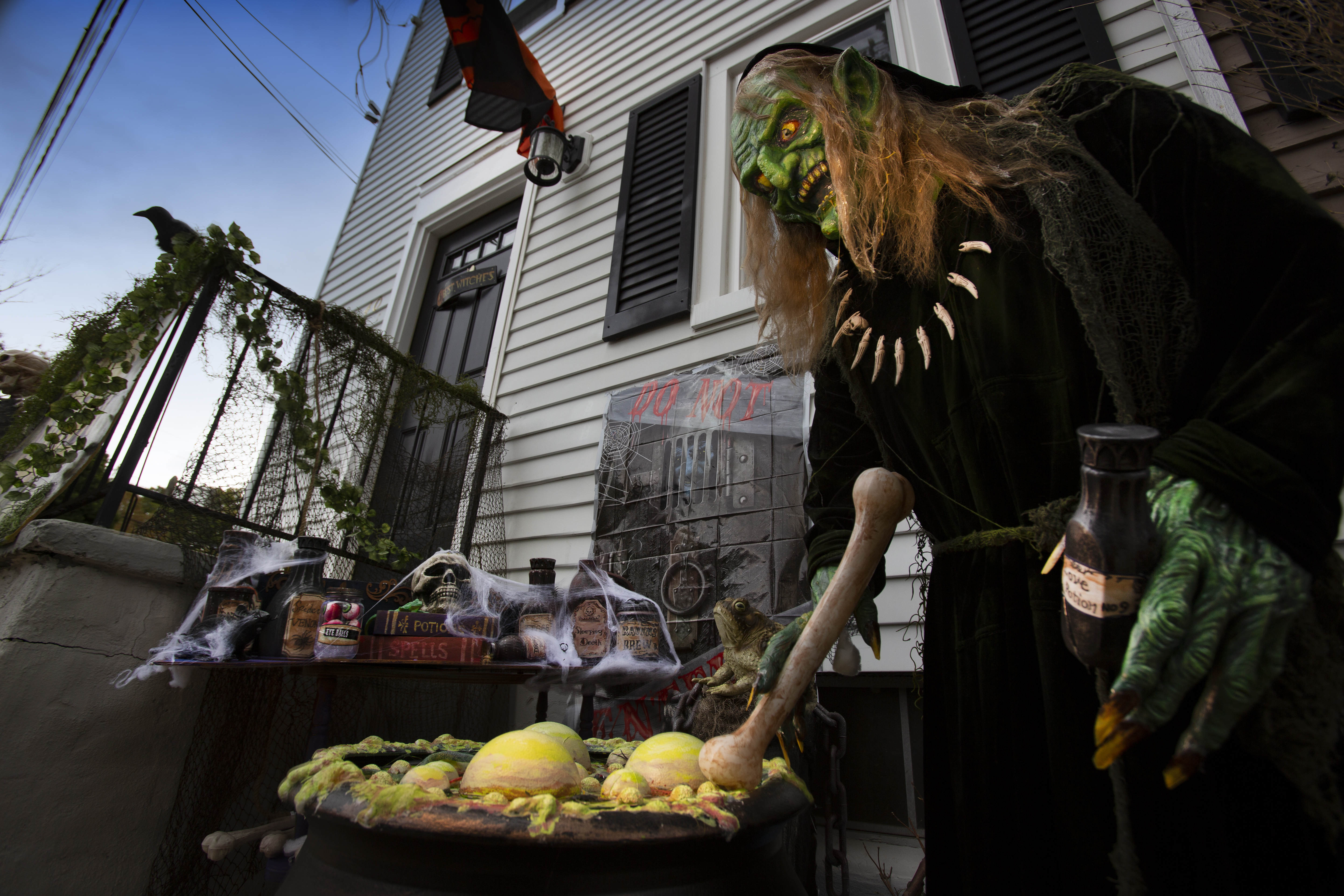 This huge Halloween street party won't be happening this year