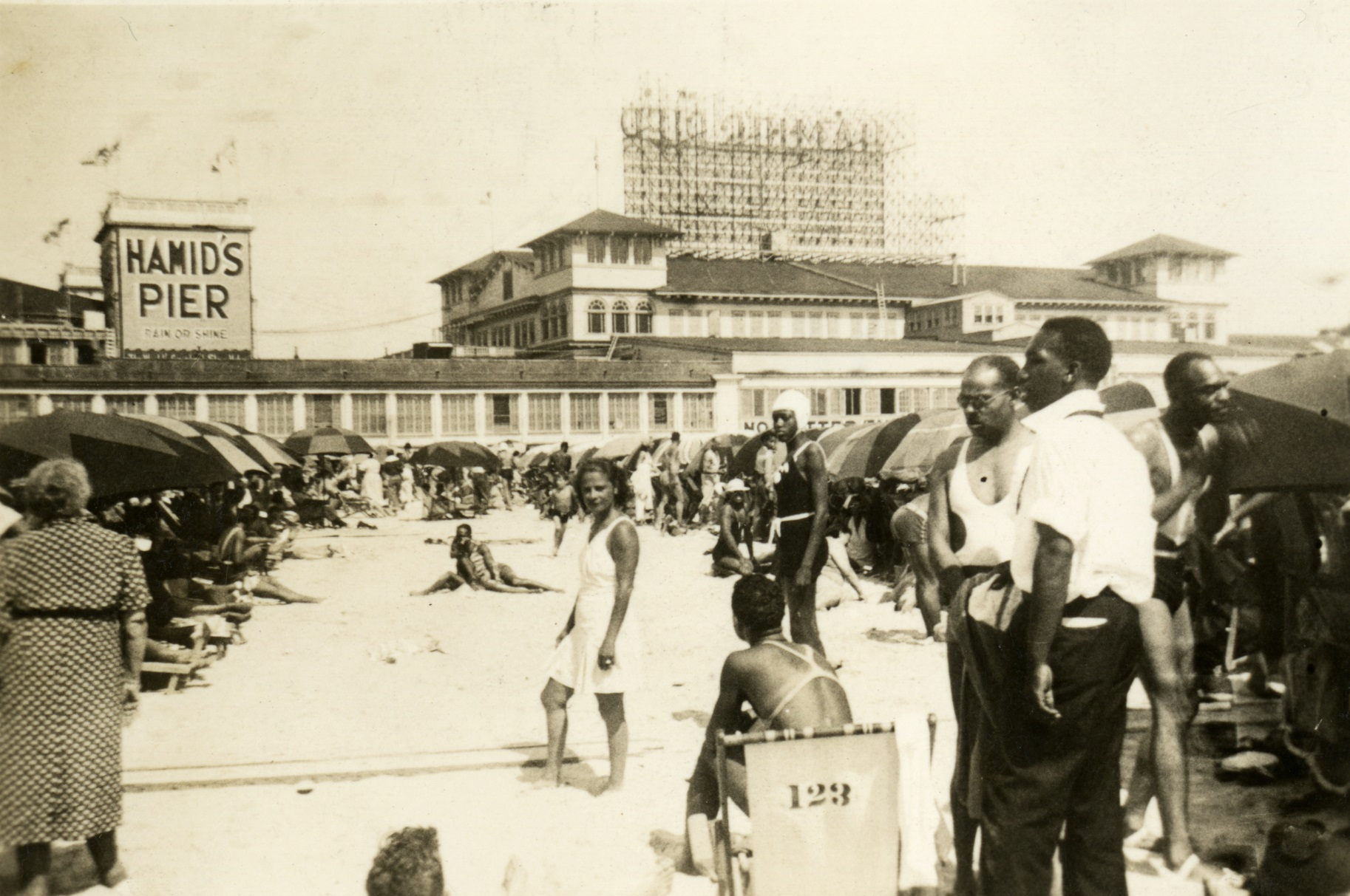 N.J. beach was the only one that allowed black tourists, but they made it a hip place to be