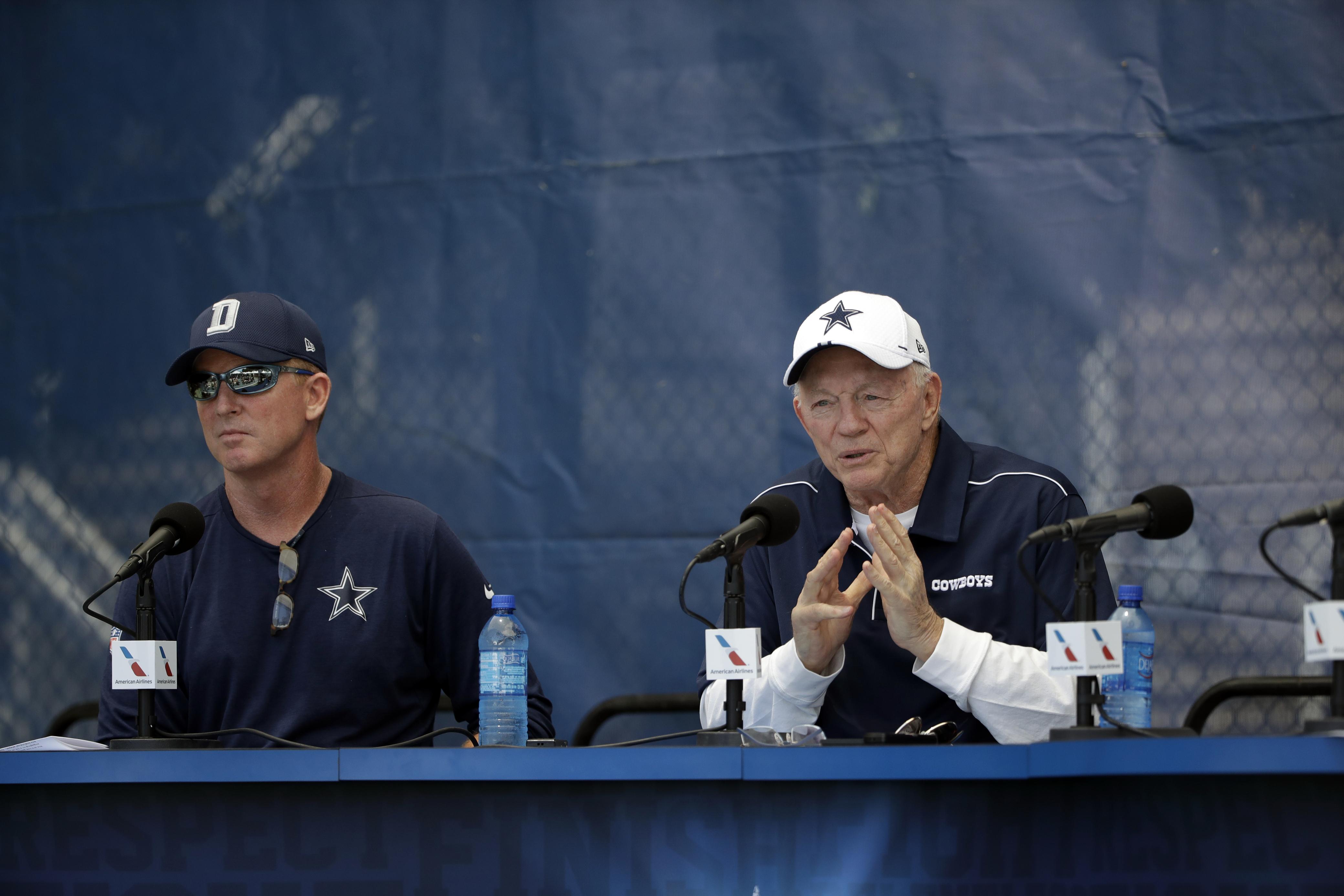 NFL rumors: Cowboys' Jason Garrett, Jerry Jones are more dysfunctional than you think, says Troy Aikman