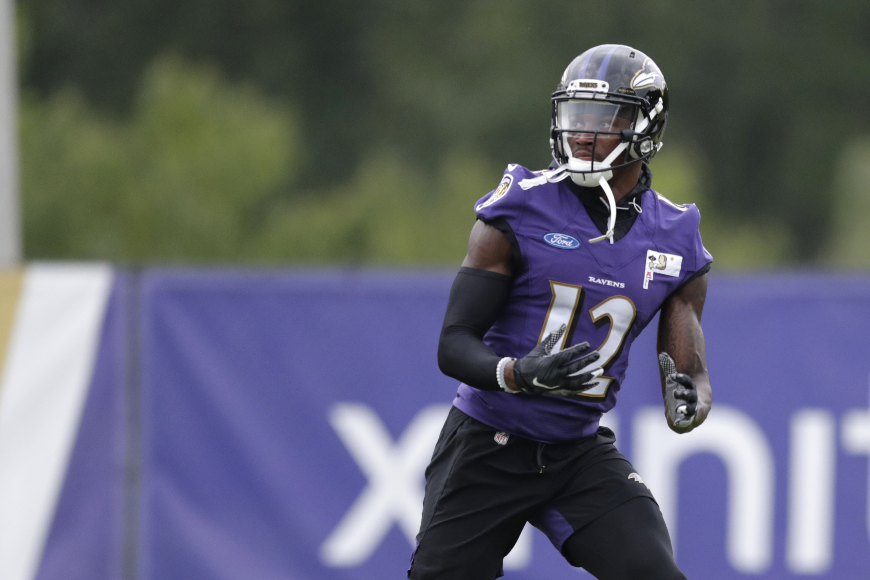 In Jaleel Scott's quest for a Baltimore Ravens roster spot ...