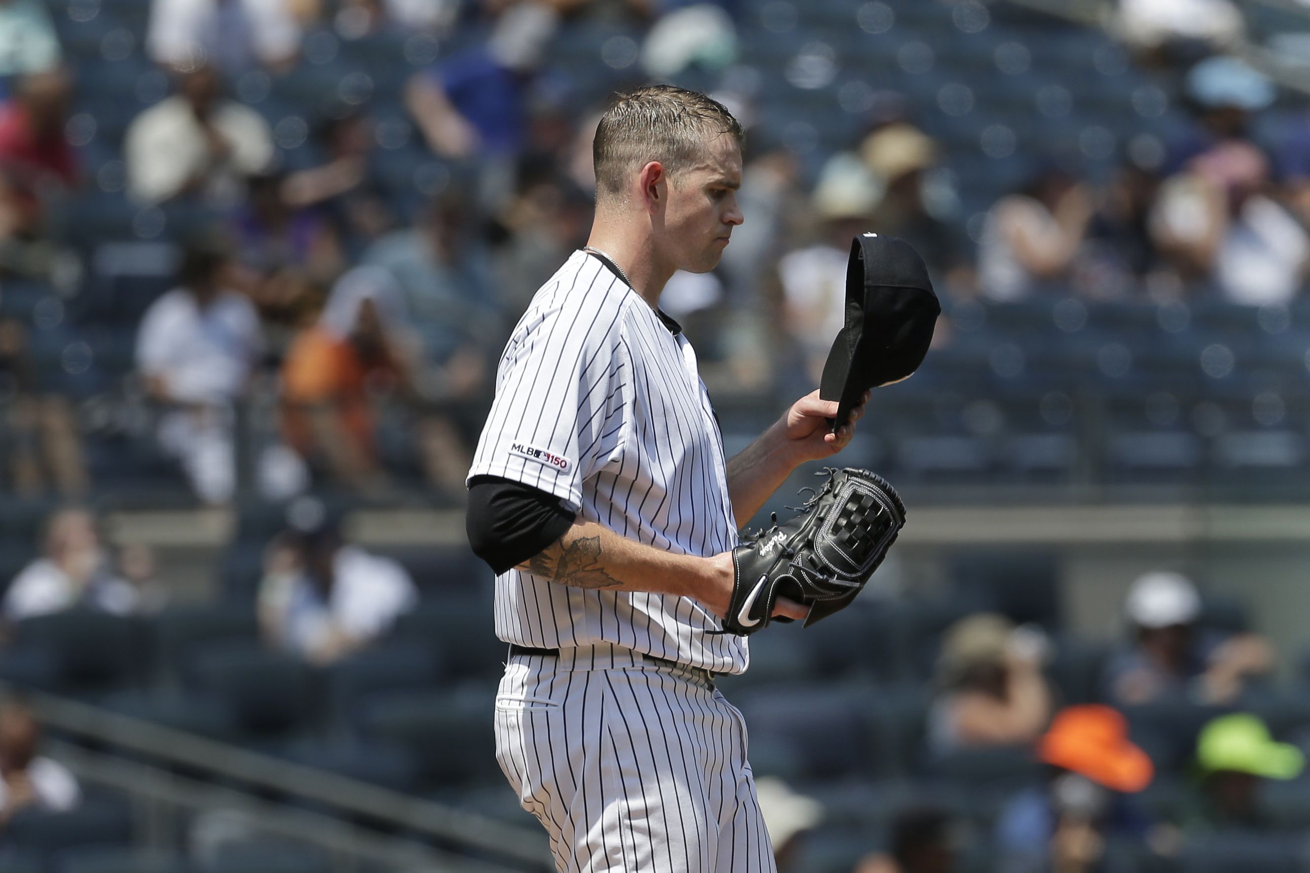 Yankees, James Paxton stumble in loss to Rockies