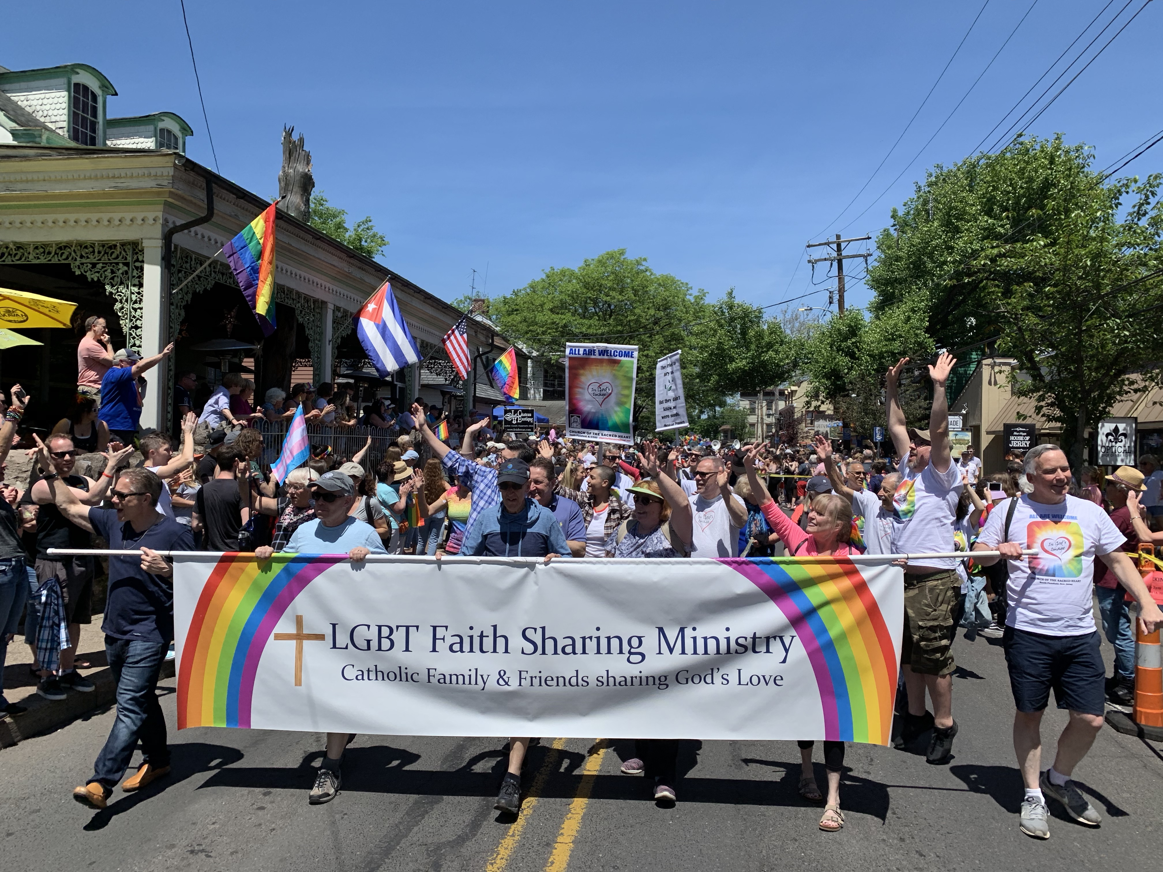 How does religion fit under rainbow flag? | Faith Matters