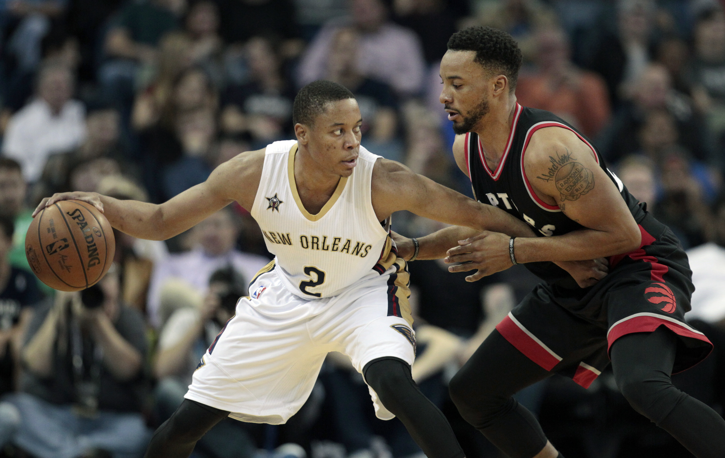 The New Orleans Pelicans brought back guard Tim Frazier (2) on Wednesday ahead of the season opener. Frazier played with the Pelicans at the end of the 2015-16 season and for the entire 2016-17 campaign. (Photo by Brett Duke, Nola.com | The Times-Picayune)