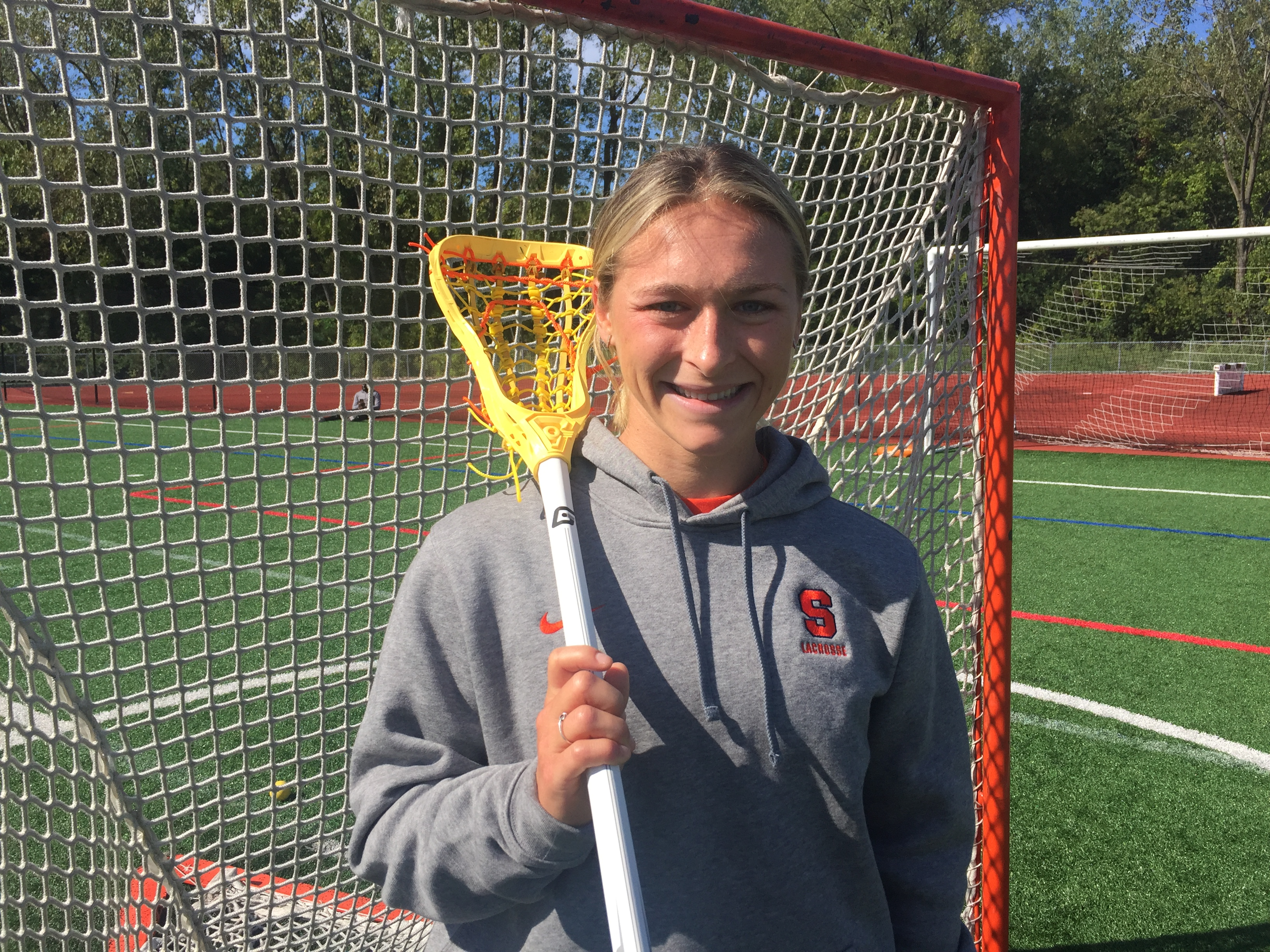 Sydney Pirreca took off for Greece and landed with Syracuse women's lacrosse