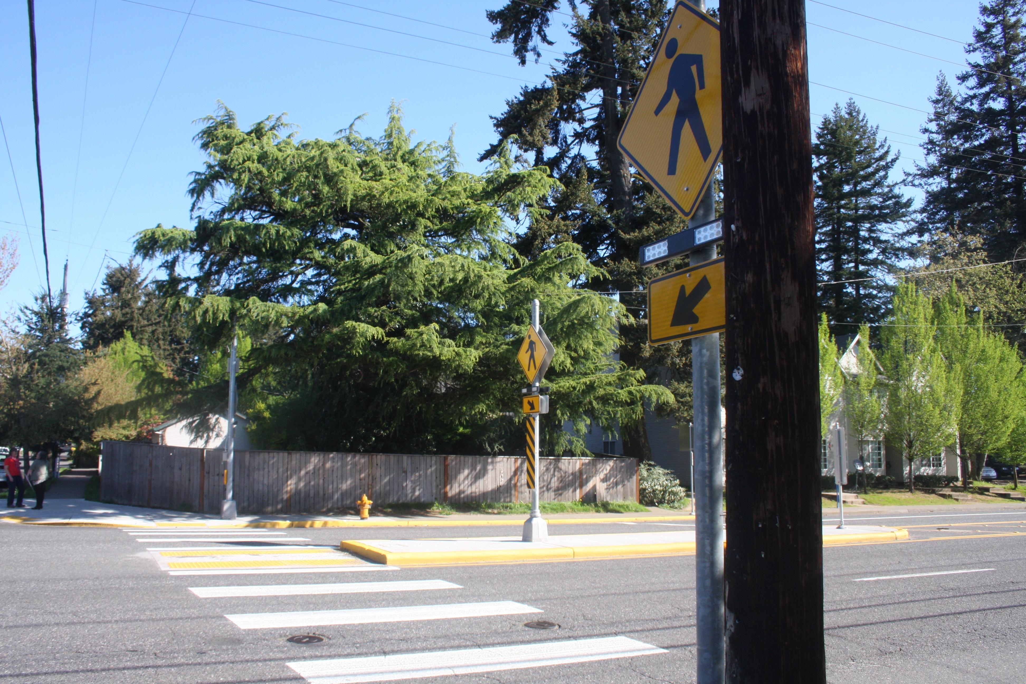 Portland metro Wednesday traffic: Police hold a crosswalk safety blitz on SE Stark