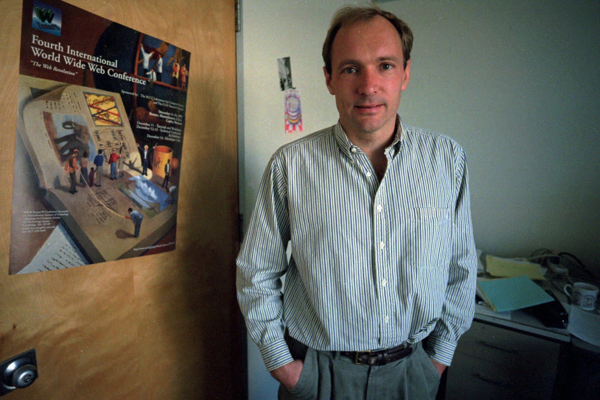 World Wide Web was born on this day 28 years ago