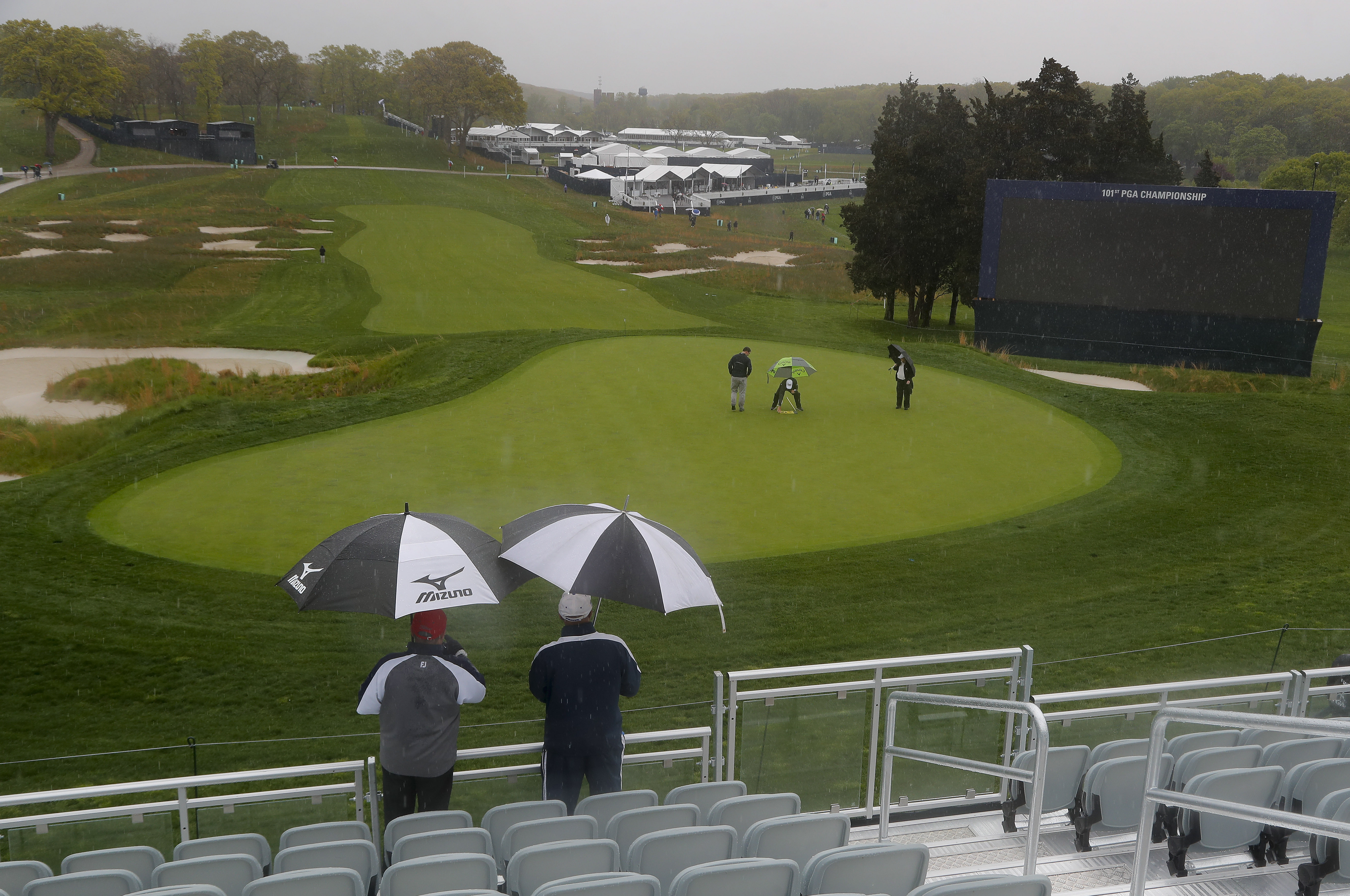 Pga Championship 2019 Weather Forecast Will Rain Delay 1st And 2nd Rounds At Bethpage Black Nj Com