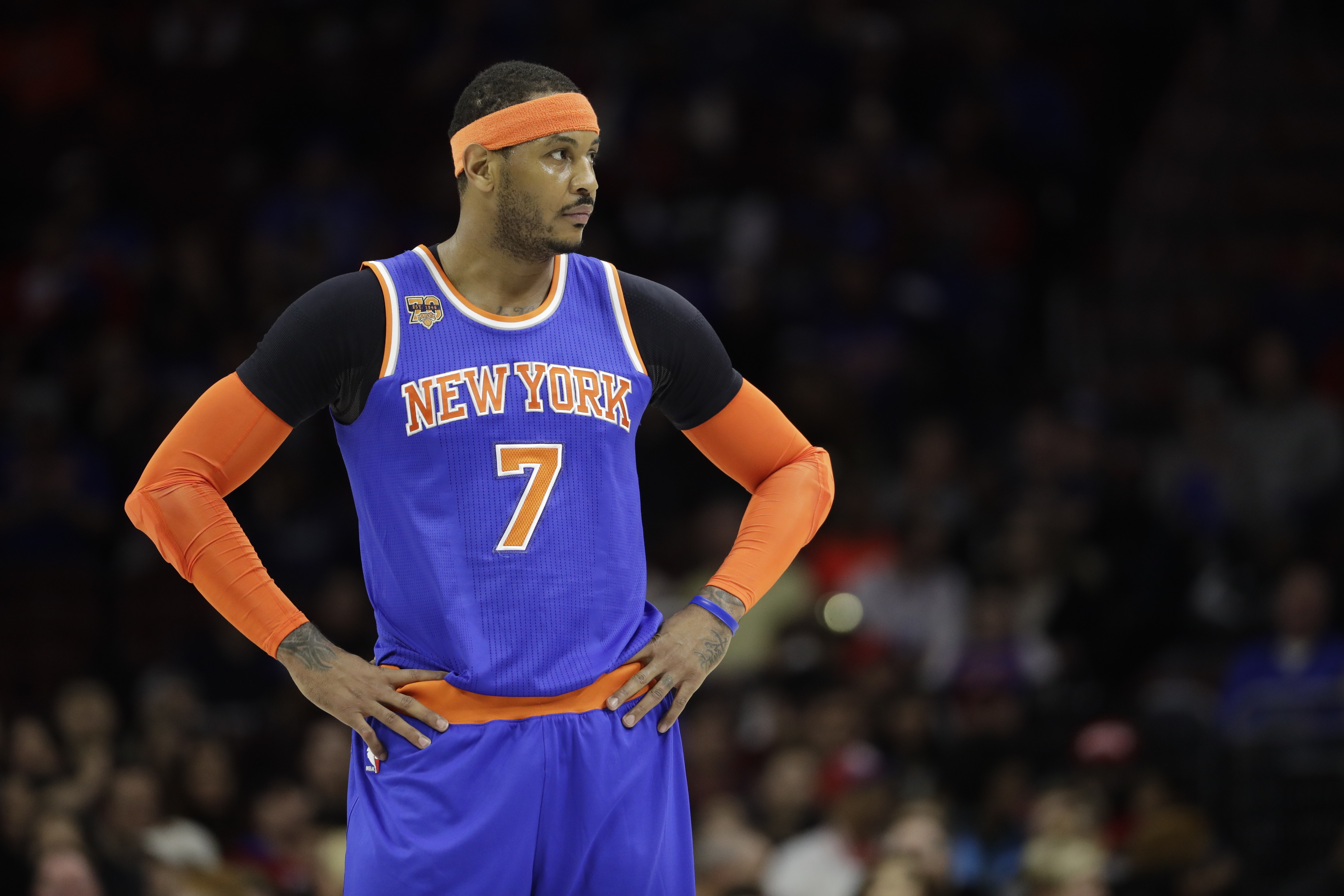 Is Carmelo Anthony being blackballed?; Dino Babers' favorite movies; more