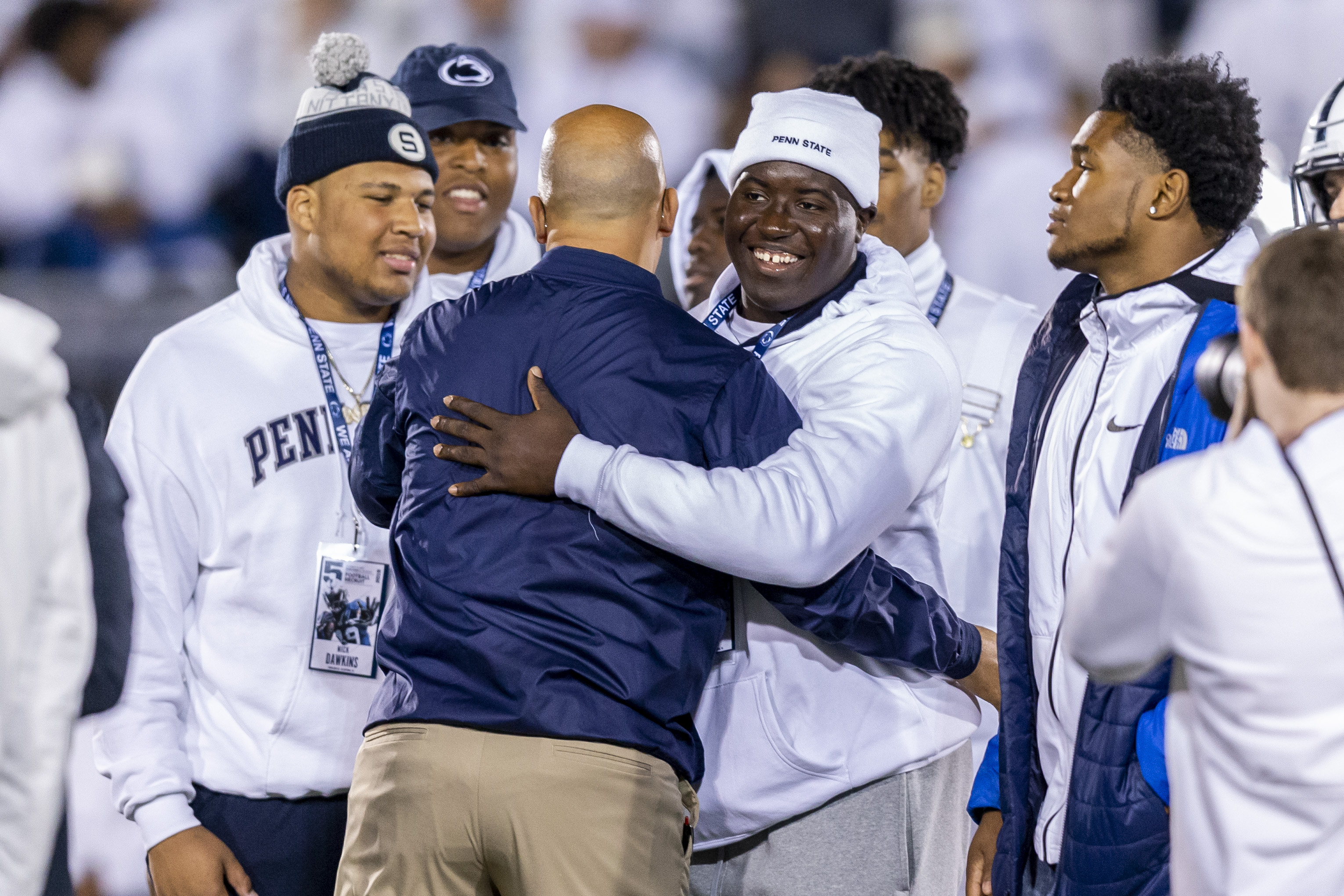 Penn State commit, Susquehanna Township DL Fatorma Mulbah excited after visit from James Franklin and assistants