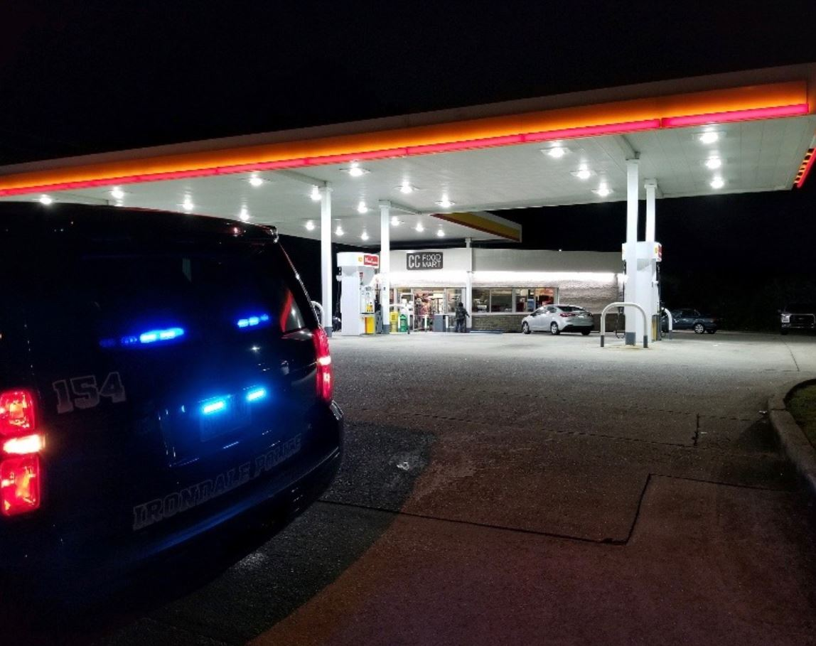 Woman shot twice outside Irondale store; 53-year-old suspect sought