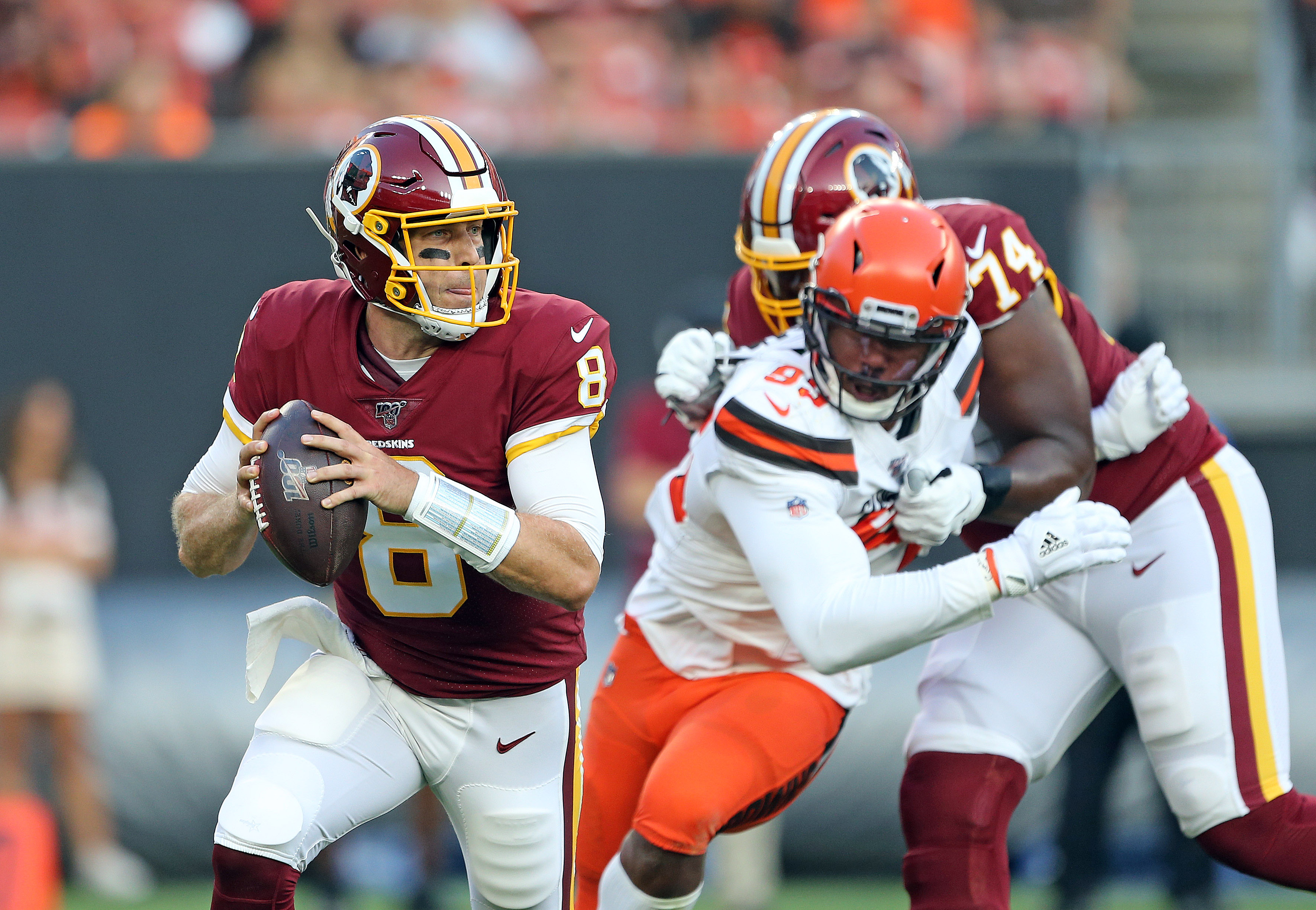 When will Redskins name starting QB for Week 1 vs. Eagles? Case Keenum or Dwayne Haskins in the lead?
