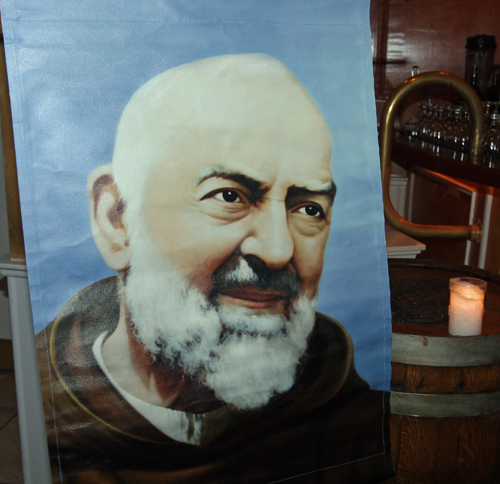 Celebrate the feast day of St. Padre Pio with mass and upcoming dinner