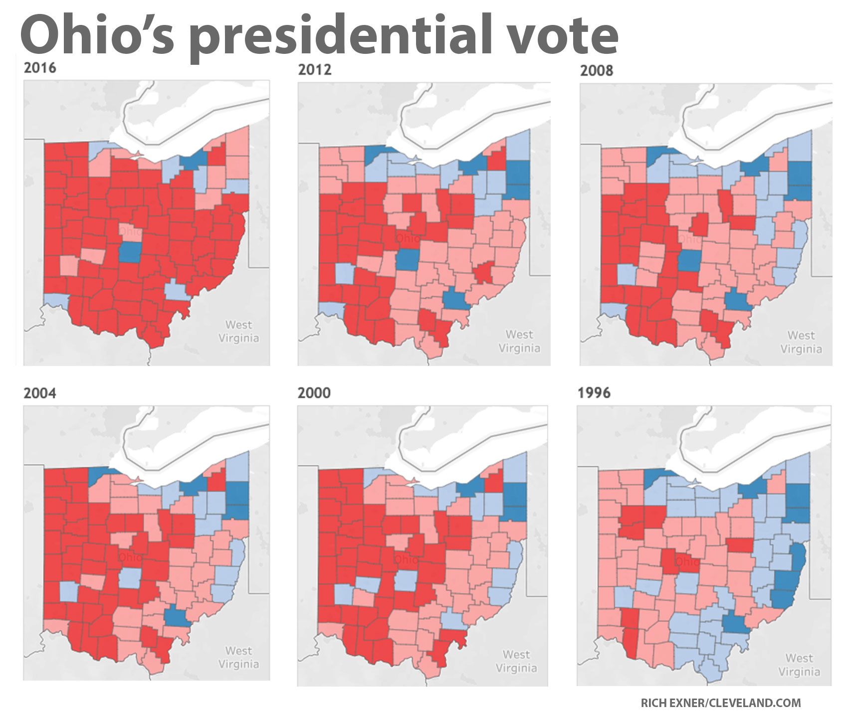 5 numbers that say a lot about presidential politics in Ohio ...