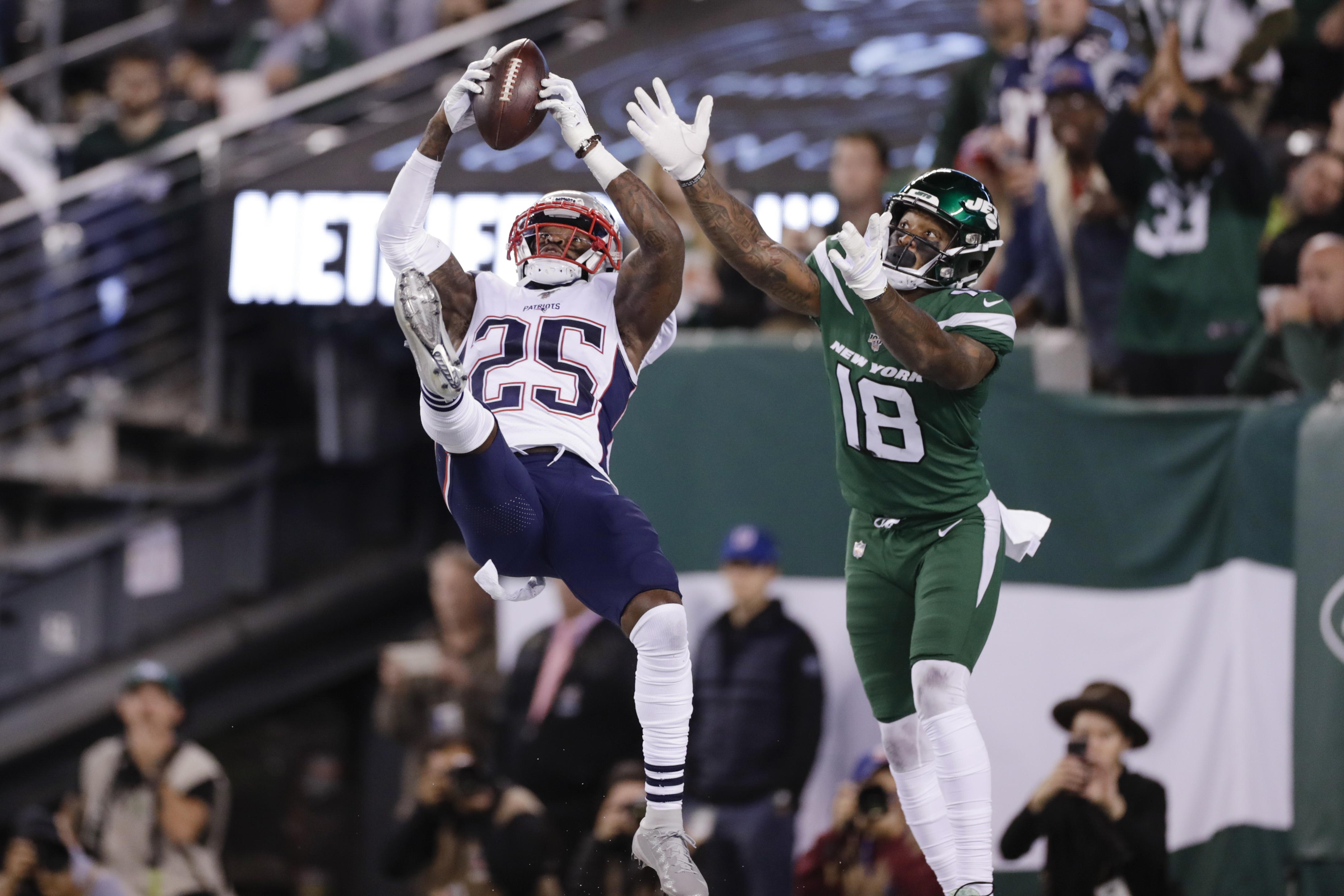 New England Patriots Suffocating Defense Had New York Jets