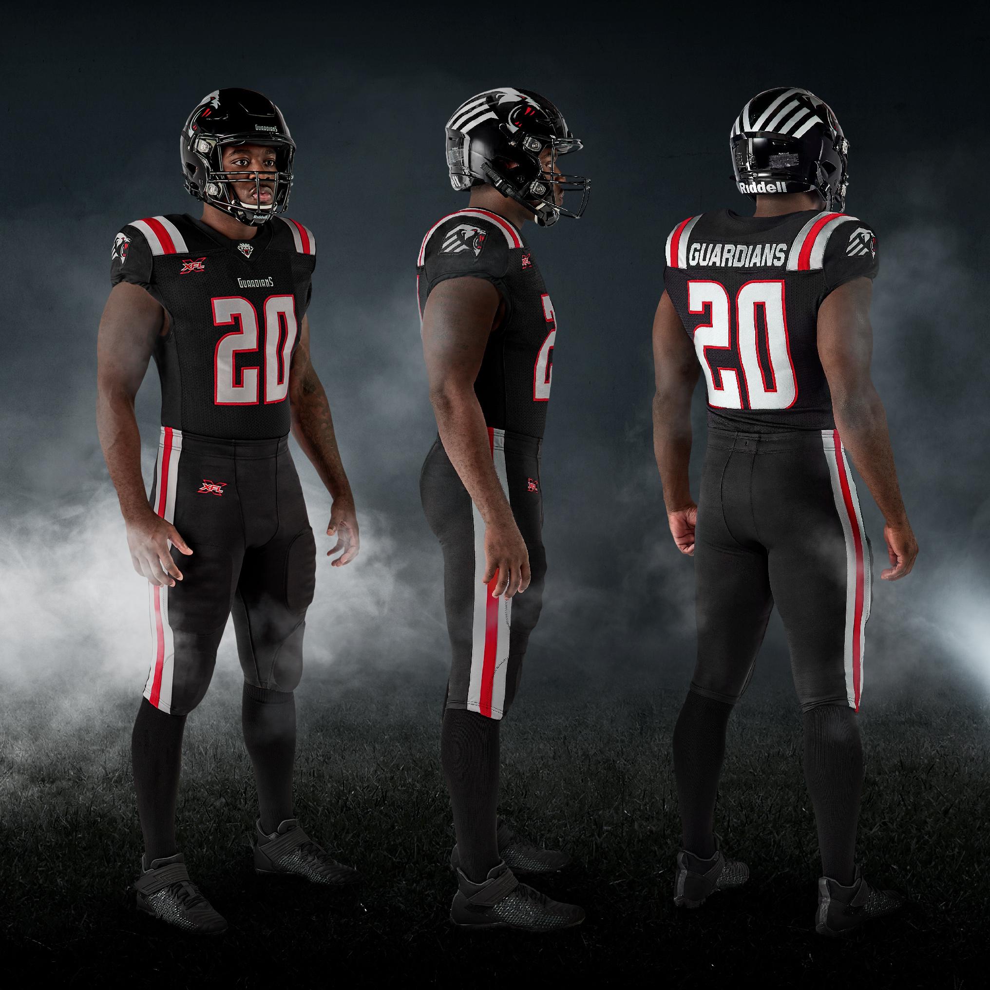 New York Guardians unveil uniforms ahead of 1st season of XFL's rebirth (PHOTO)