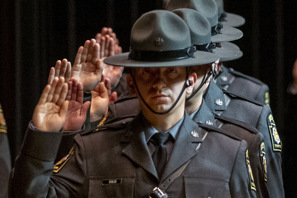 Pennsylvania State Police Welcomes 104 New Troopers