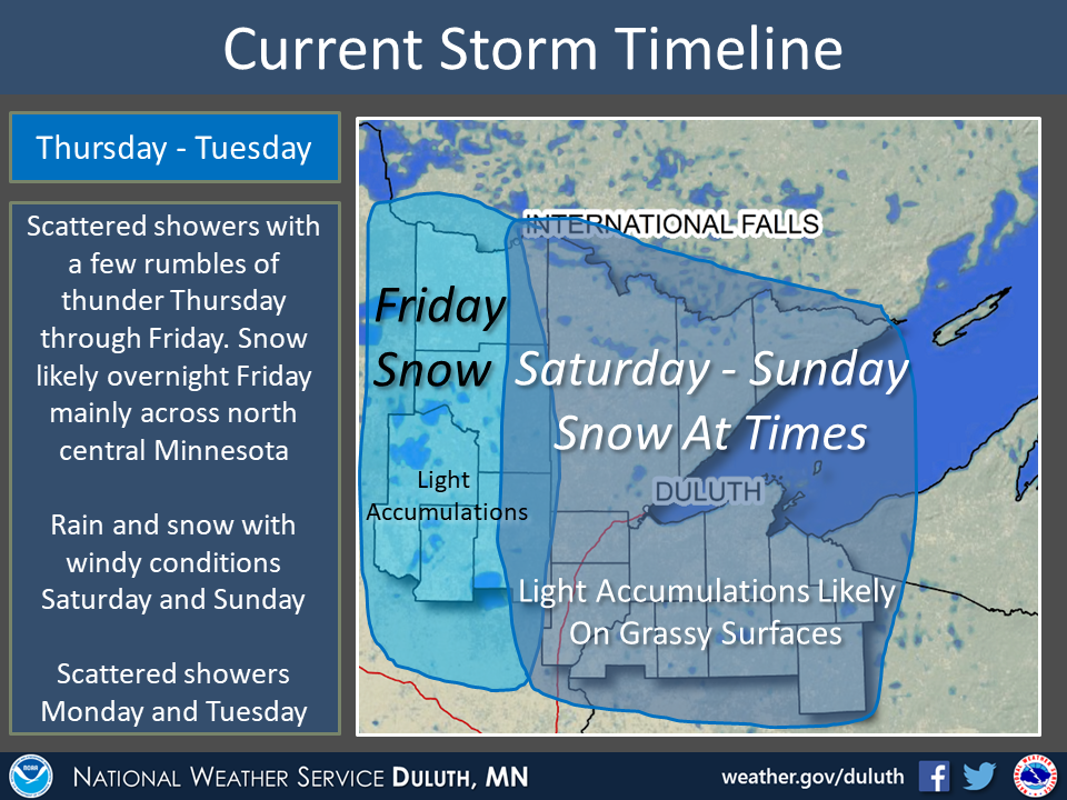 Fall storm will act like winter and make some snow over Great Lakes region