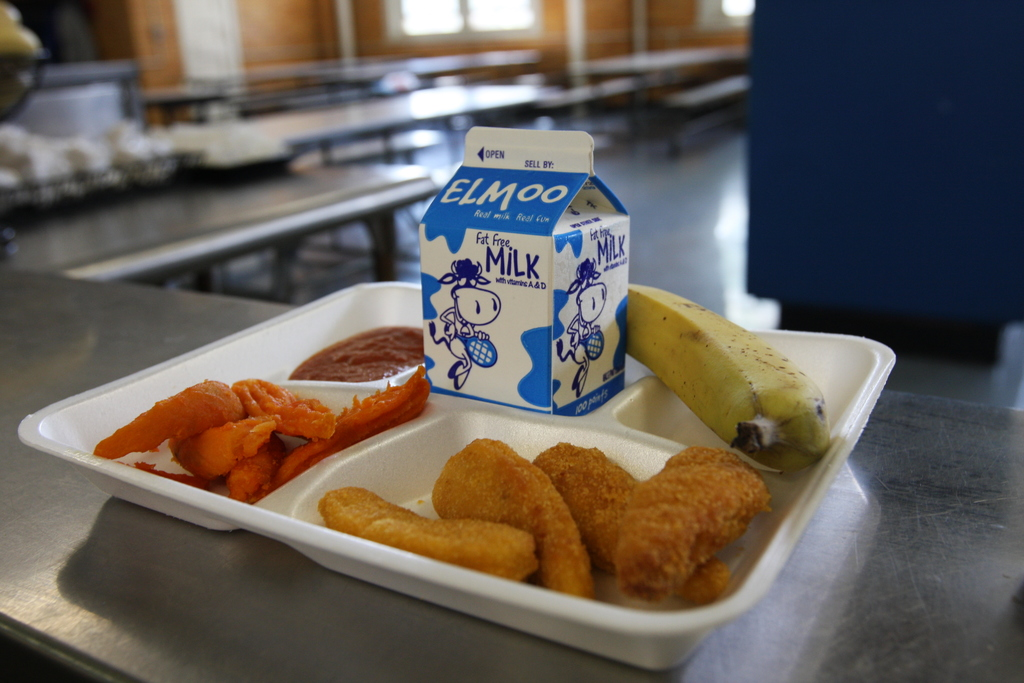 Should child with school lunch debt be placed in foster care?