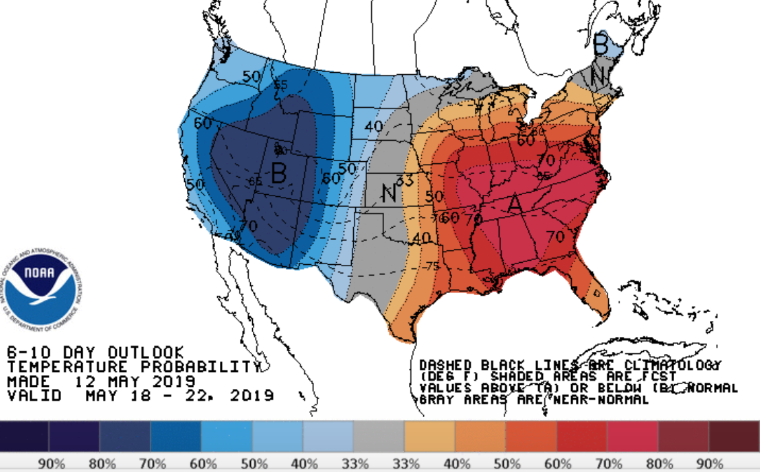 It finally looks like late spring warmth will boot out Michigan's cold
