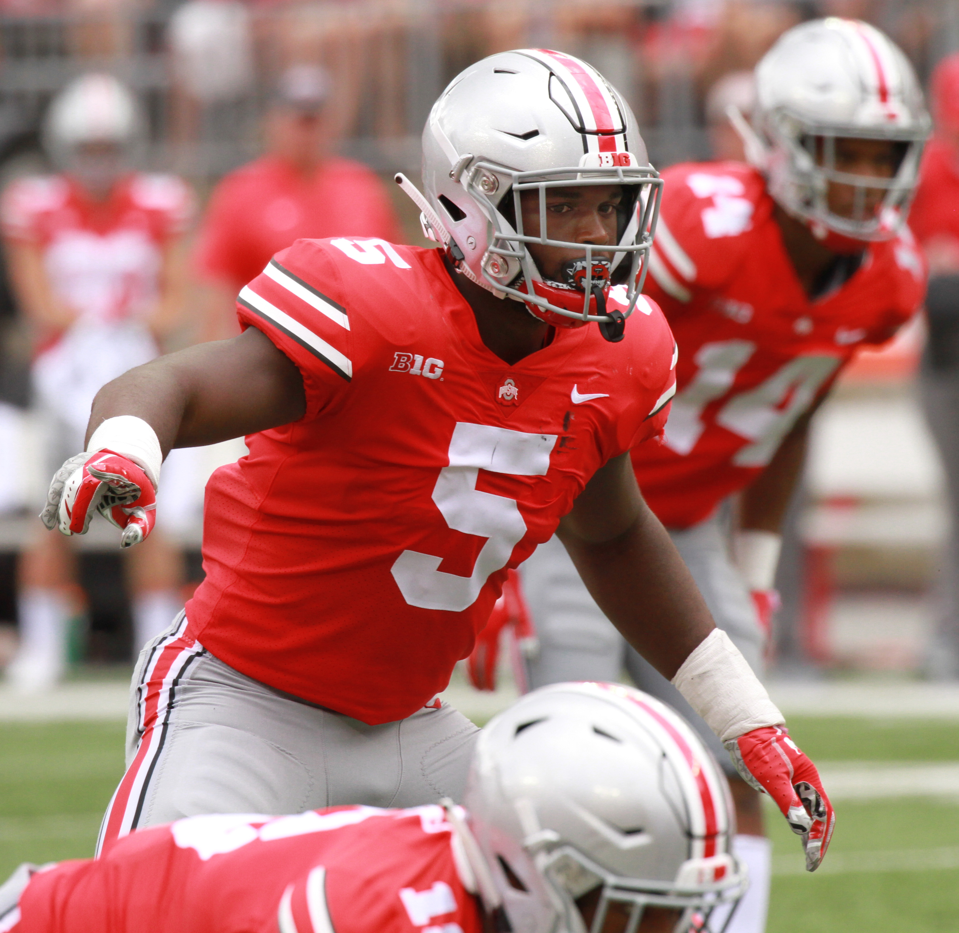 An Ohio State spring football plea: Find the right position for Baron  Browning -- Doug Lesmerises - cleveland.com