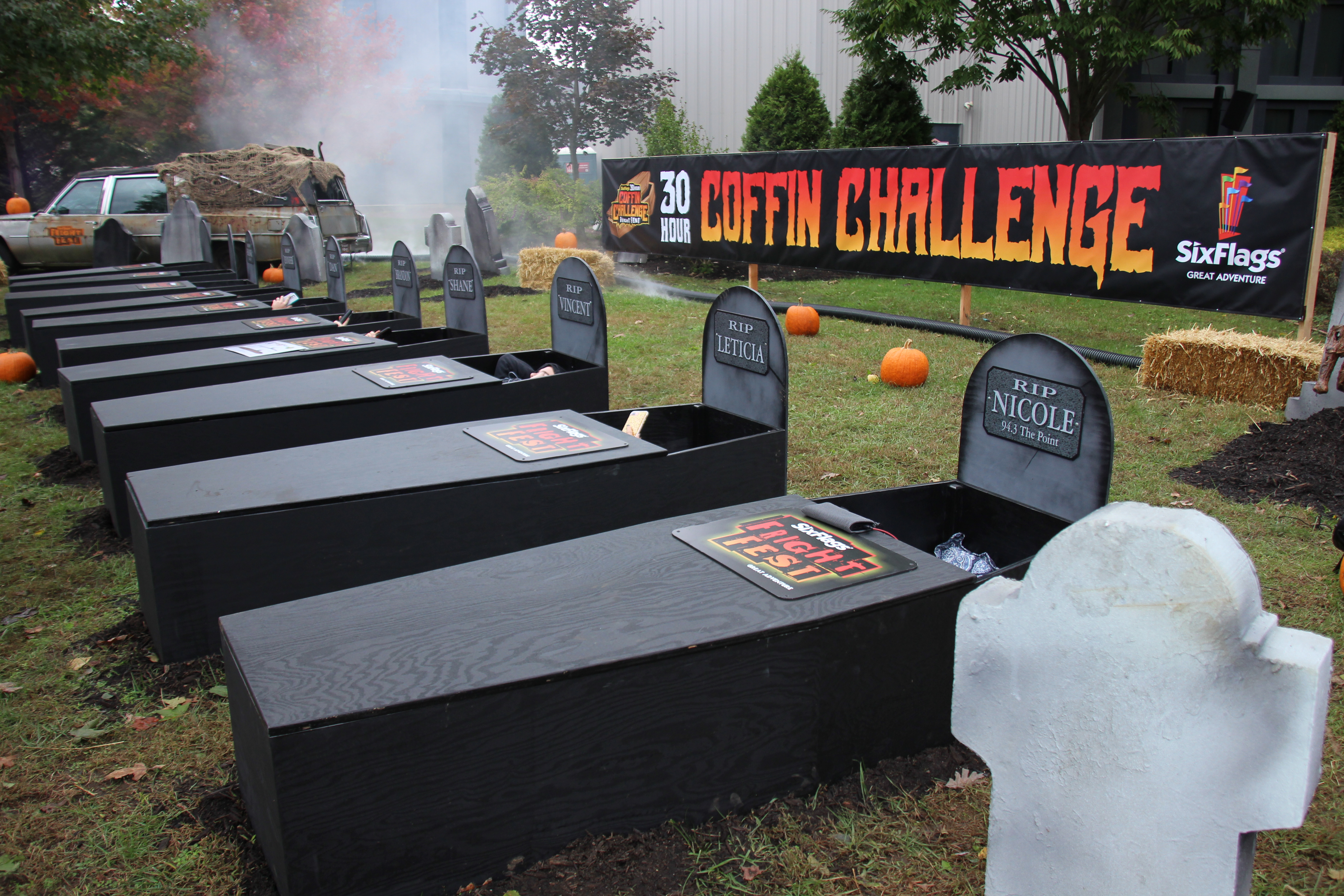 I'll do my 'Coffin Challenge' when I'm actually dead, thanks (opinion)