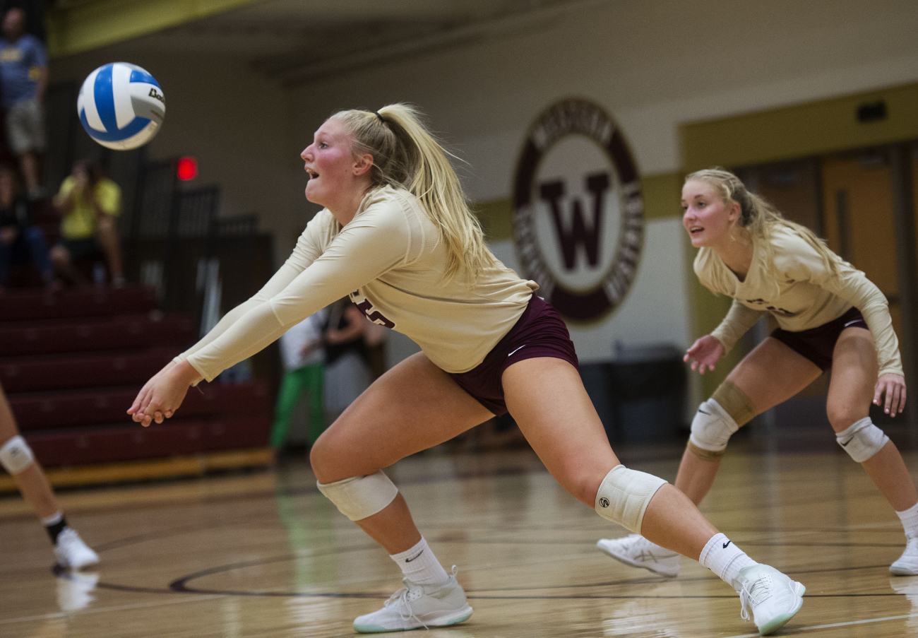 Western's Abi Wilcoxson talks milestones, college plans and Panther volleyball