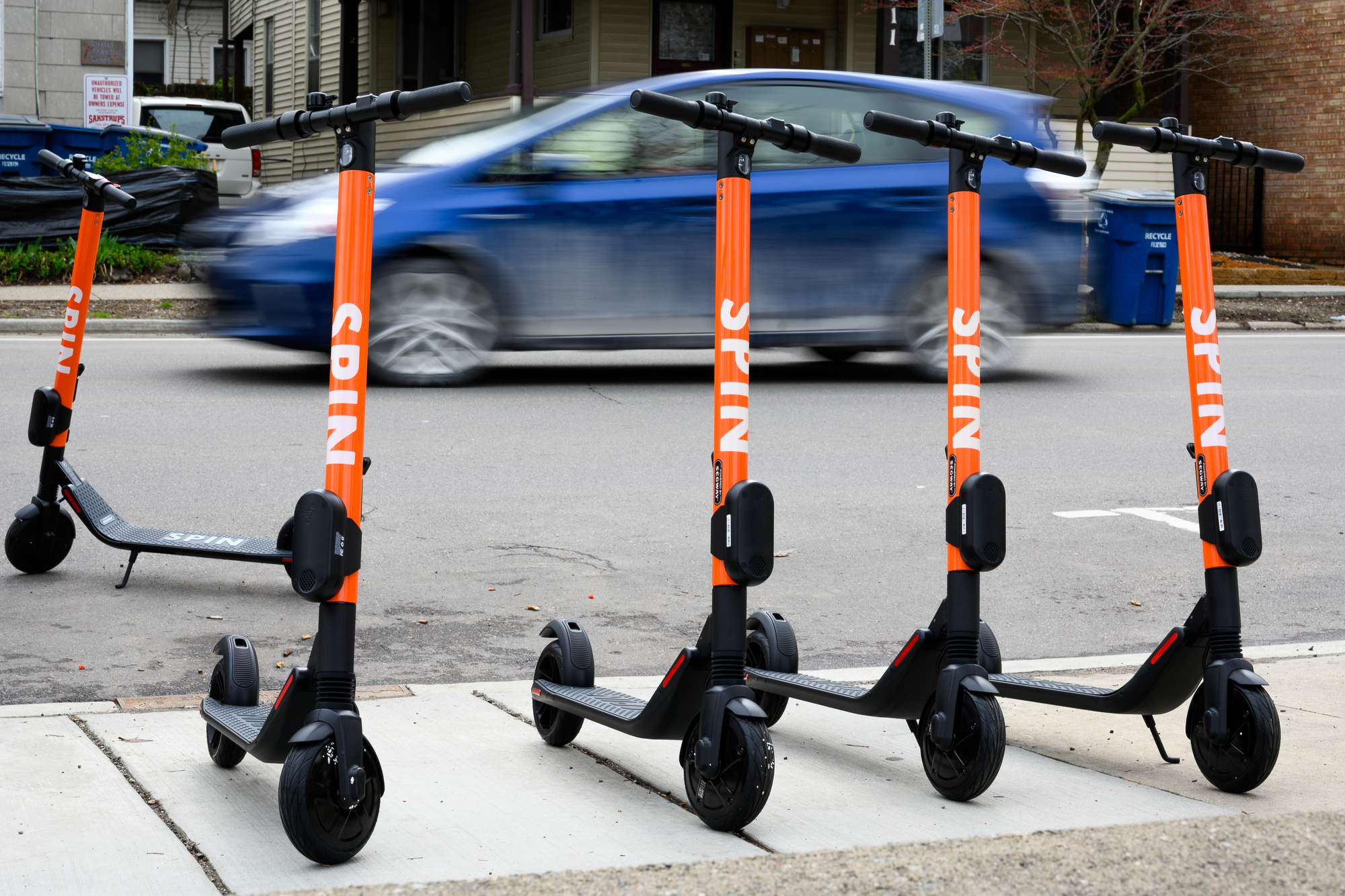 Spin to deploy scooter charging stations in Ann Arbor