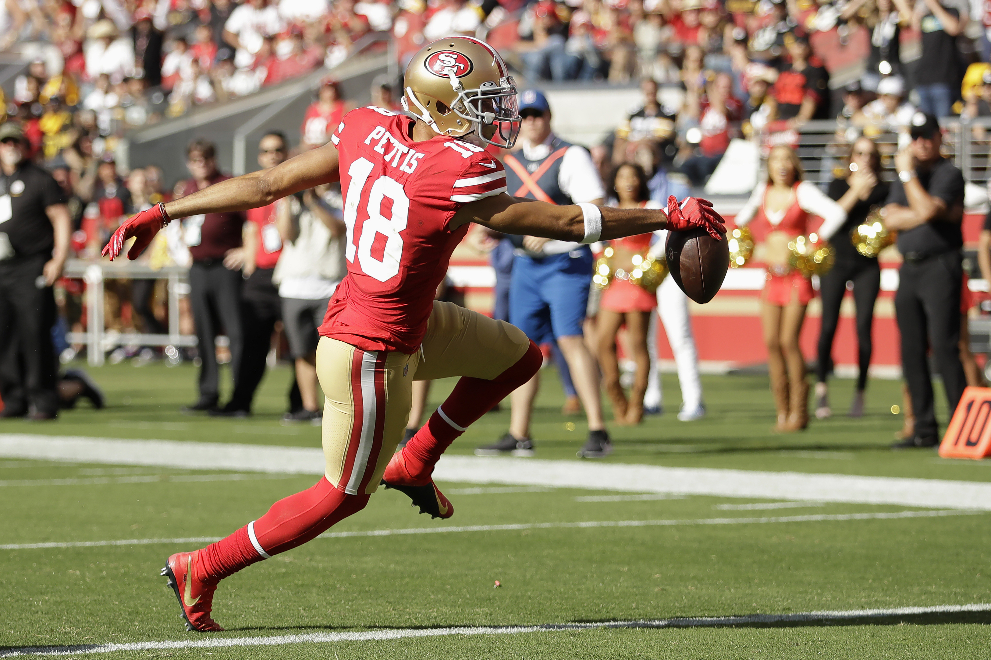 online store 84692 6938e San Francisco 49ers remain undefeated after defense comes to ...
