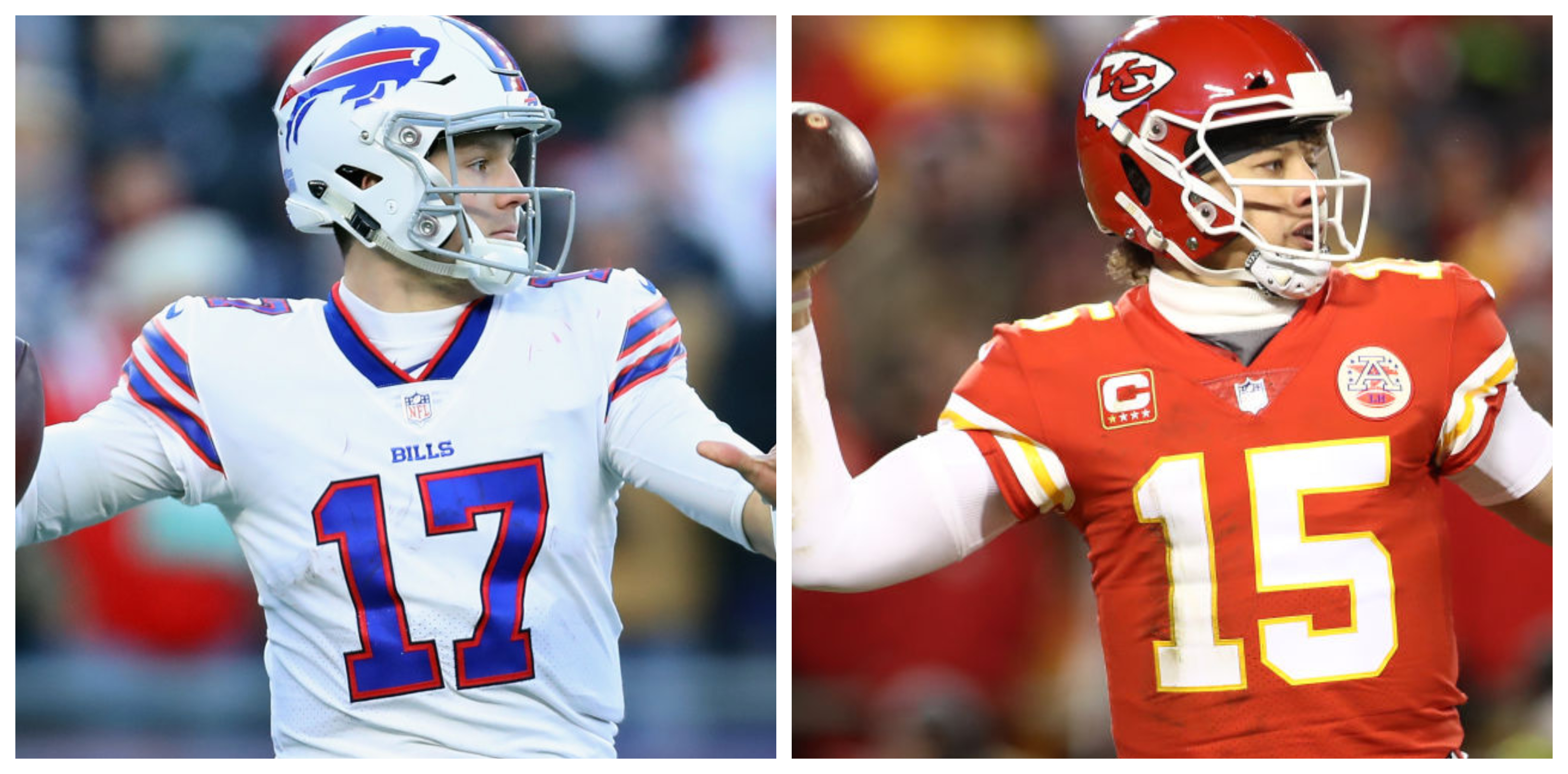 Patrick Mahomes: I would throw ball further than Buffalo Bills QB Josh Allen