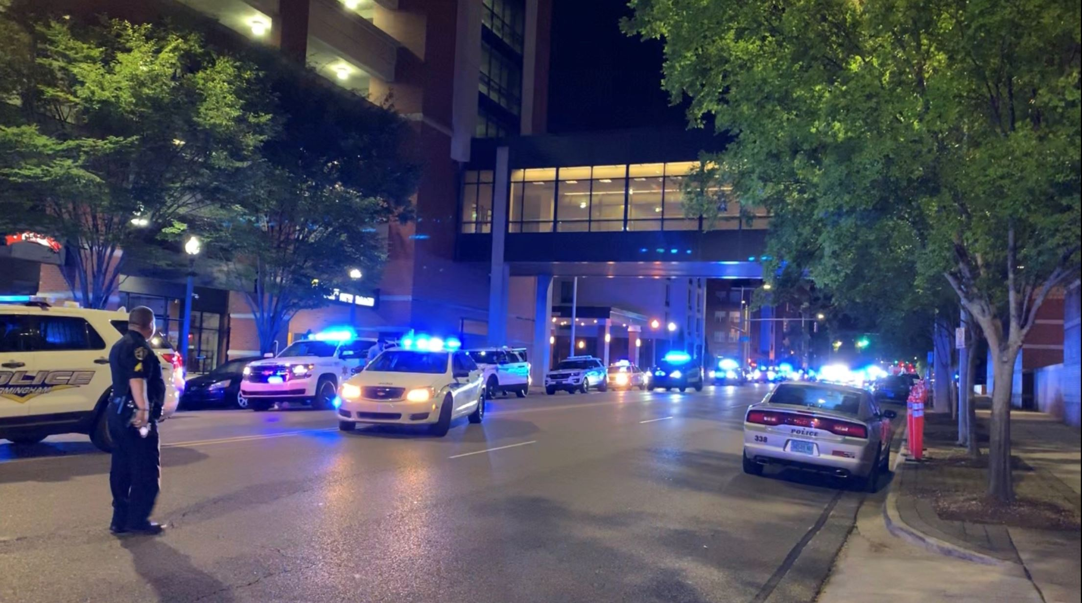 Birmingham police officer staged shooting, faked distress