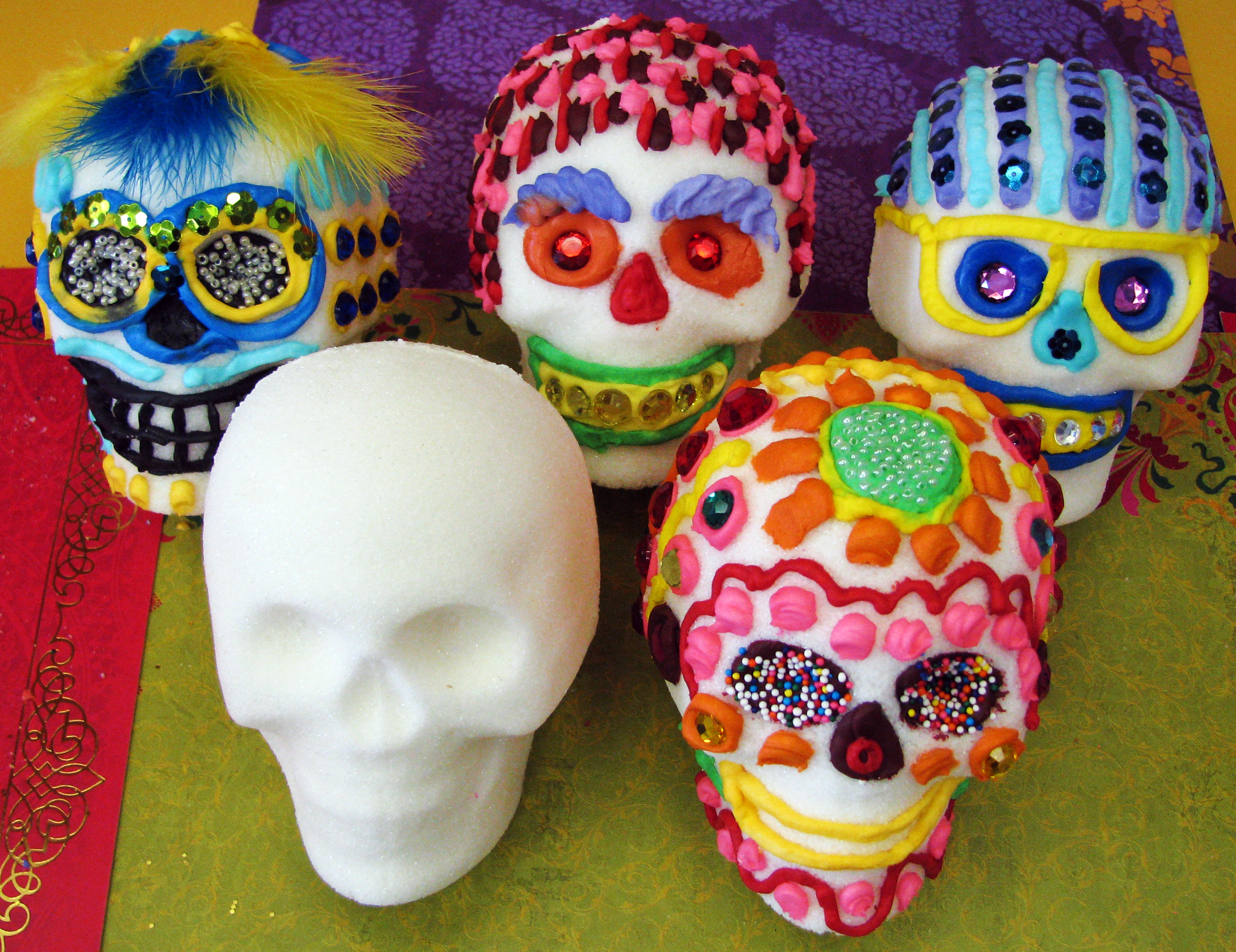 Sugar skulls are a tradition for Day of the Dead celebrations (NOLA.com | The Times-Picayune archive)