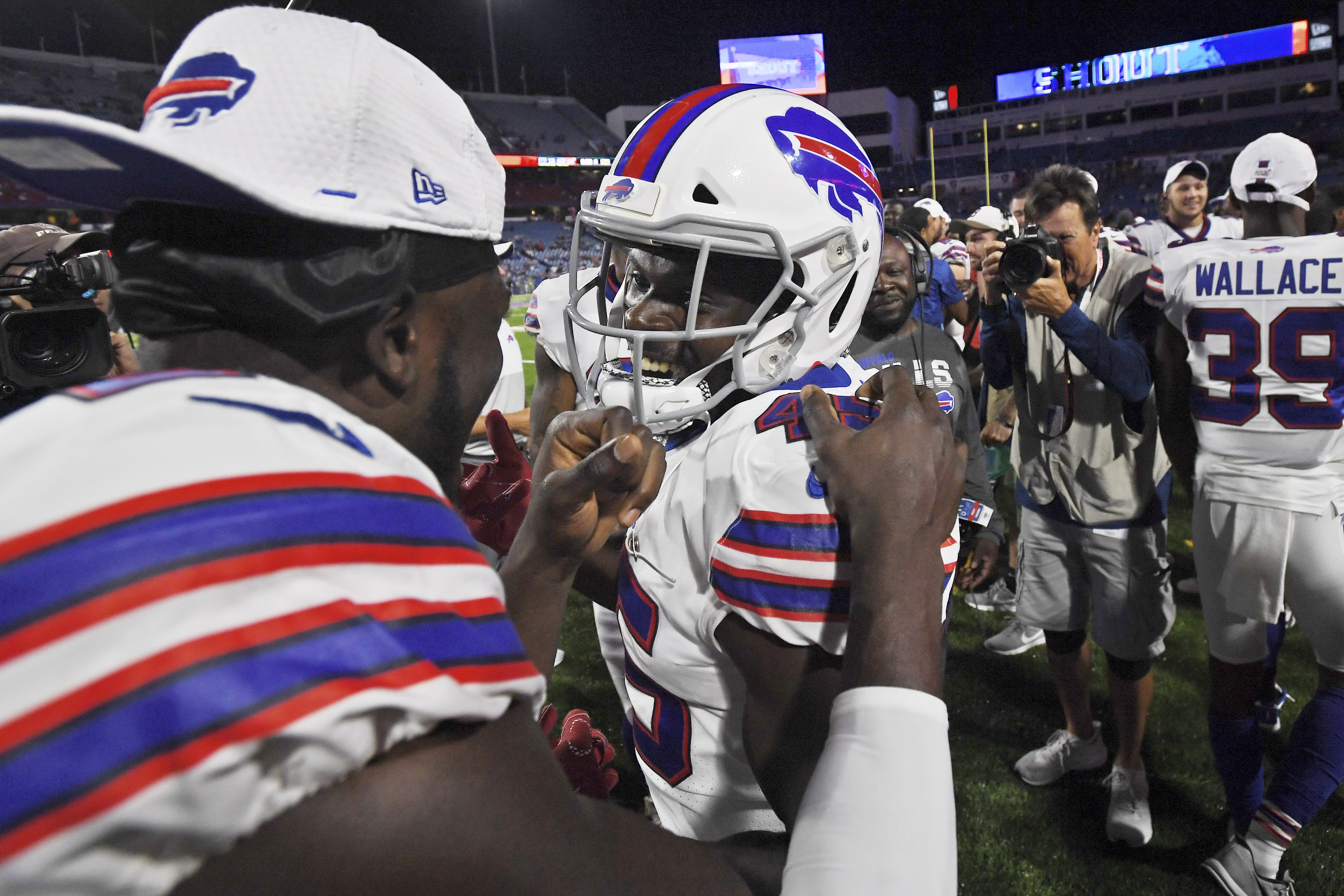 Buffalo Bills' Christian Wade is at it again! (What they're saying)