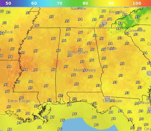 Code Orange air quality alert for Friday for Birmingham metro area