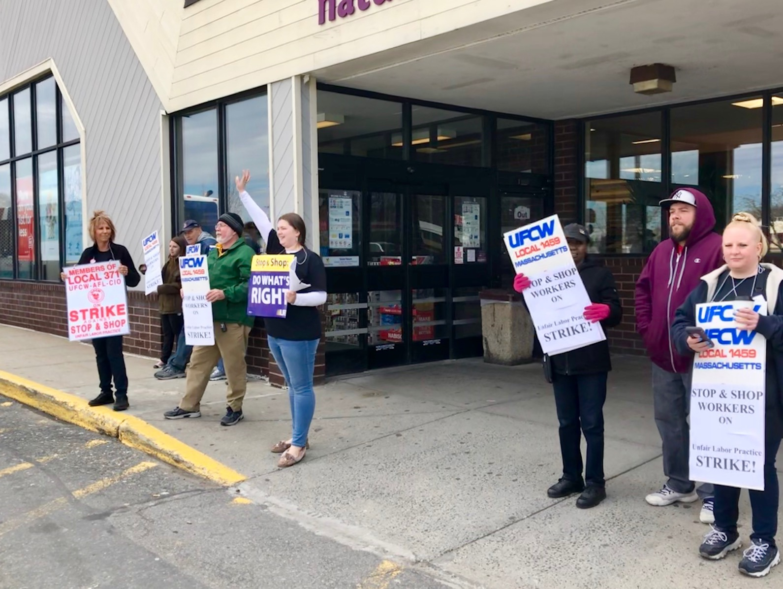 stop next against job action which stores area unit open