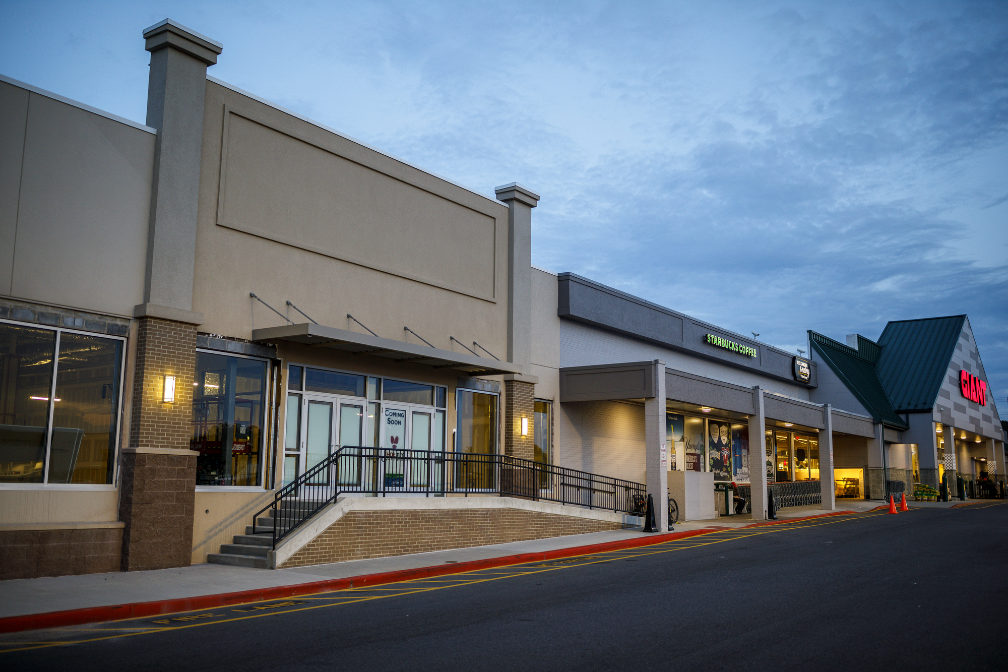 This shoe store is relocating up the road to this Giant-anchored shopping center