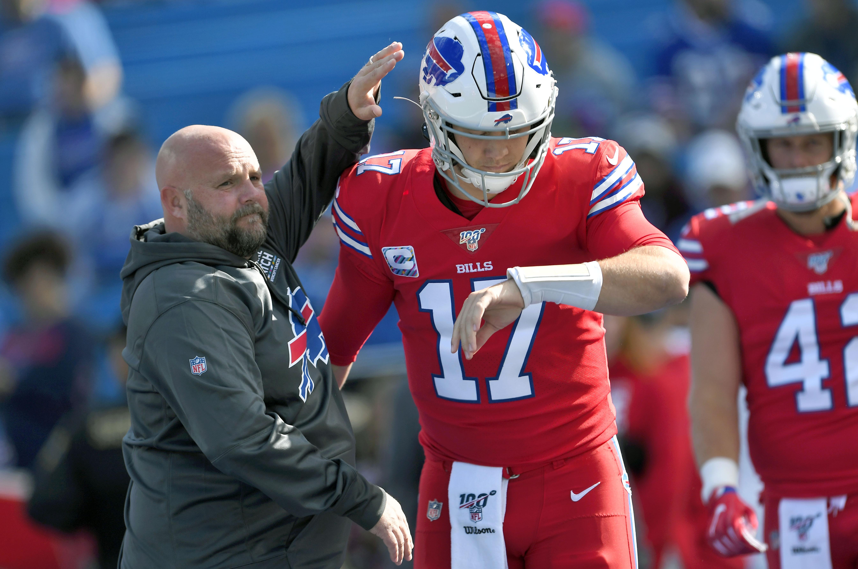 Buffalo Bills denied New York Giants permission to interview OC Brian Daboll (report)