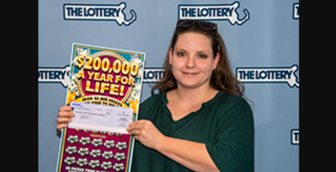 Massachusetts State Lottery winner: Quincy woman buys scratch ticket in Braintree, wins $200,000 every year for life