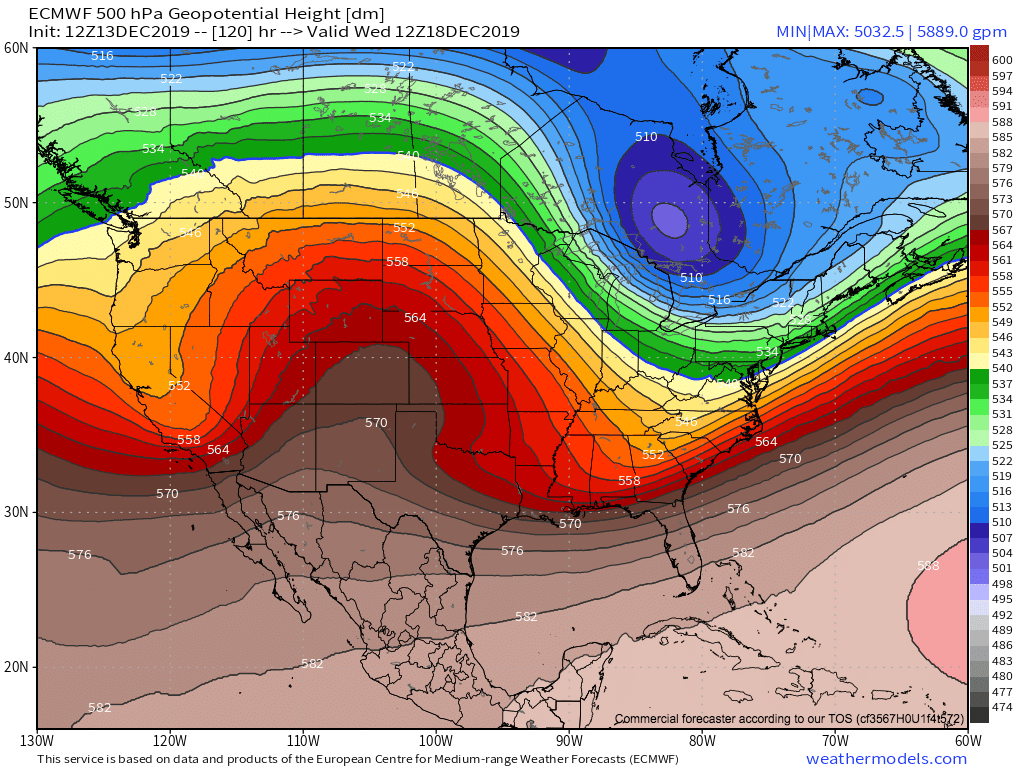 Polar Vortex: Here she comes next week