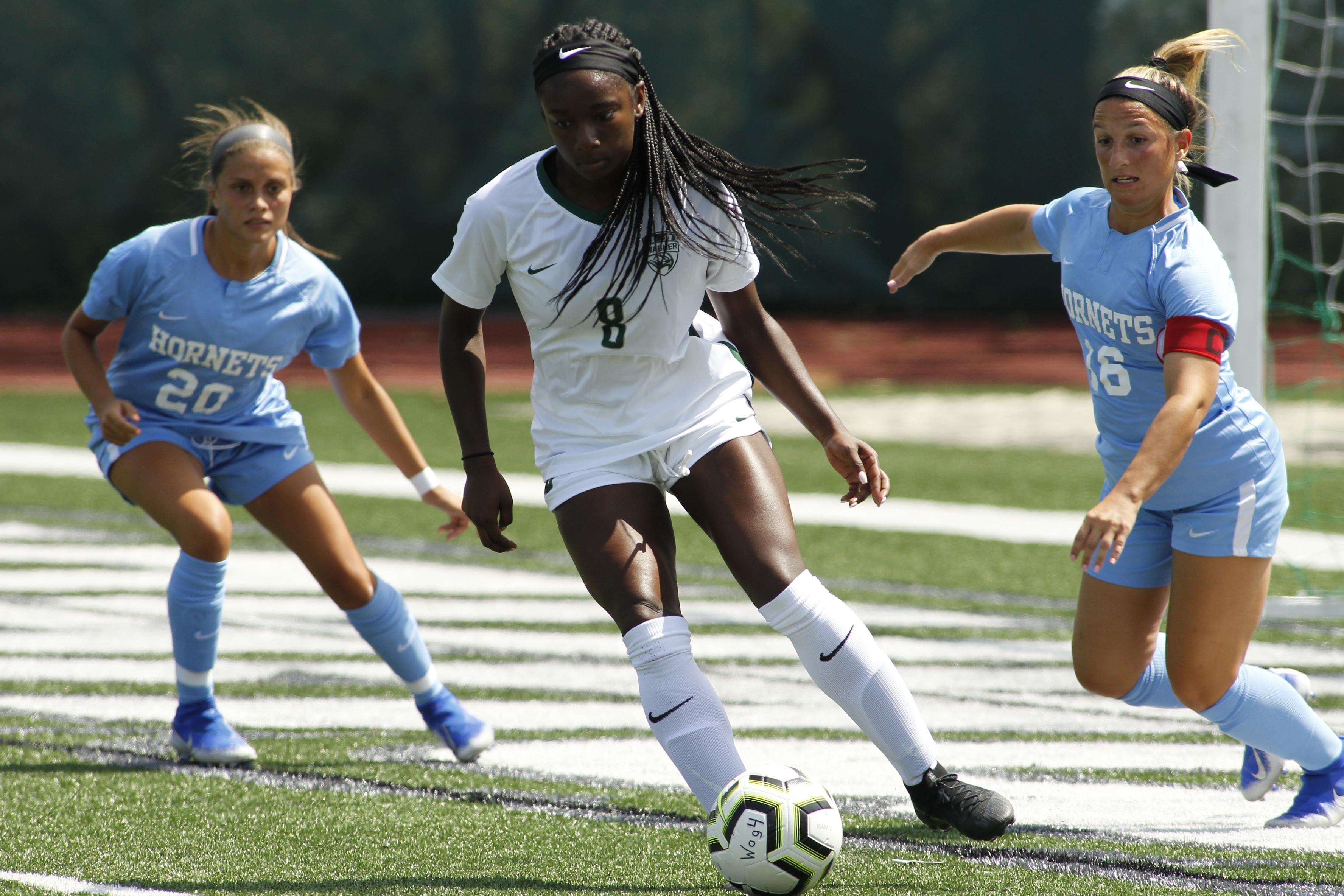 Allen's game-winner carries Wagner women's soccer team to thrilling 3-2 OT win over Iona